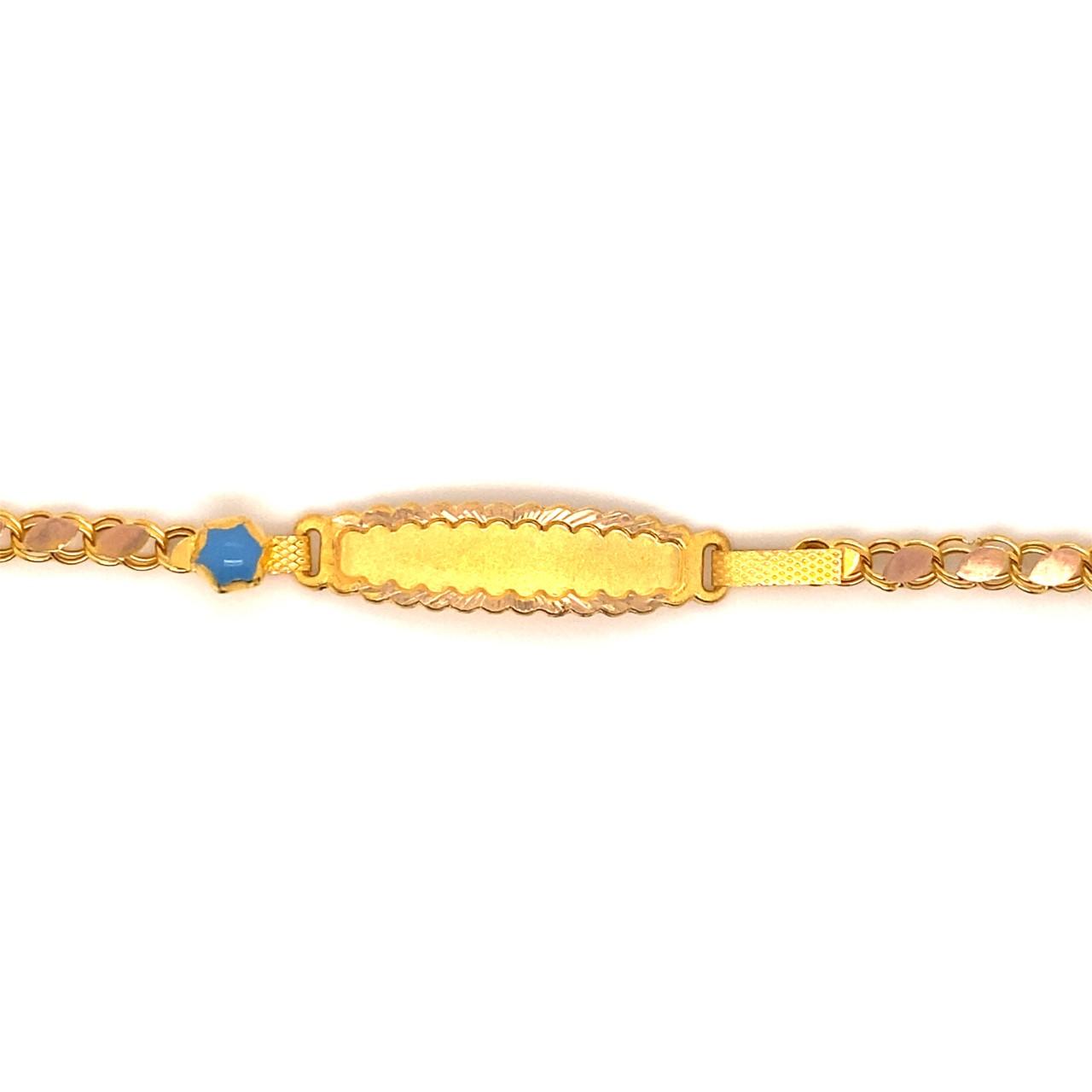 585 Gold Armband | Wolke