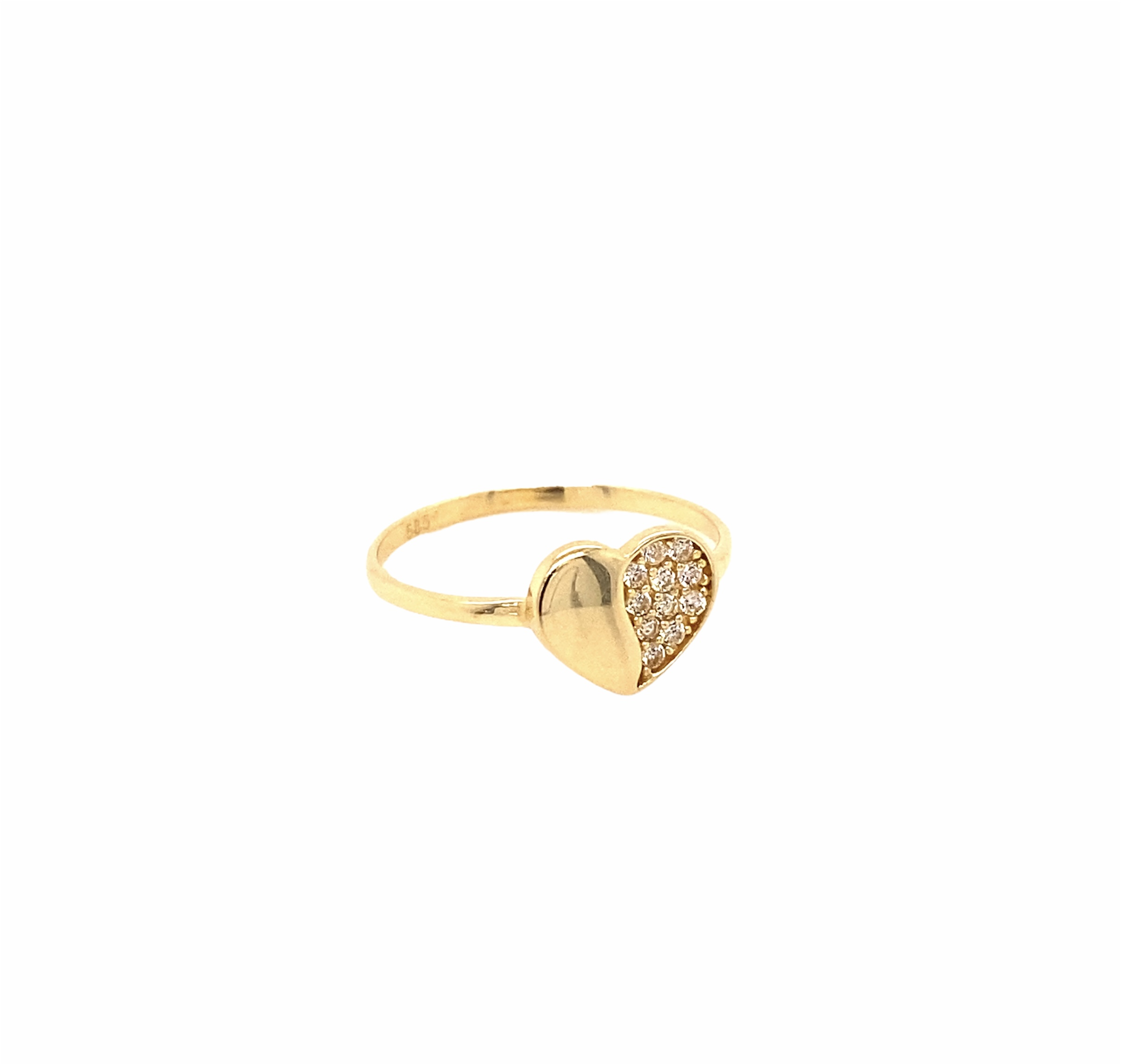 585 Gold Ring | Herz