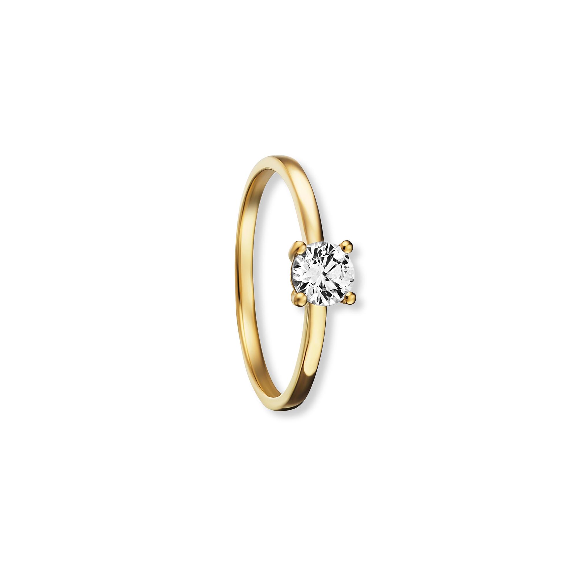333 Gold | Ring Zirkonia