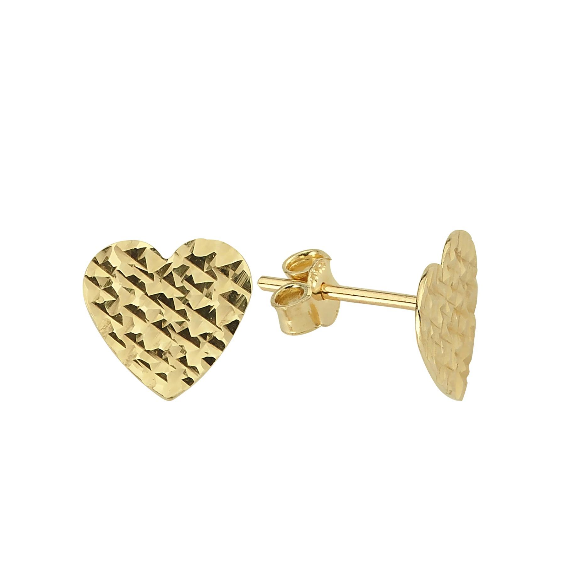 585 Kocak Gold Ohrring  |  Herz