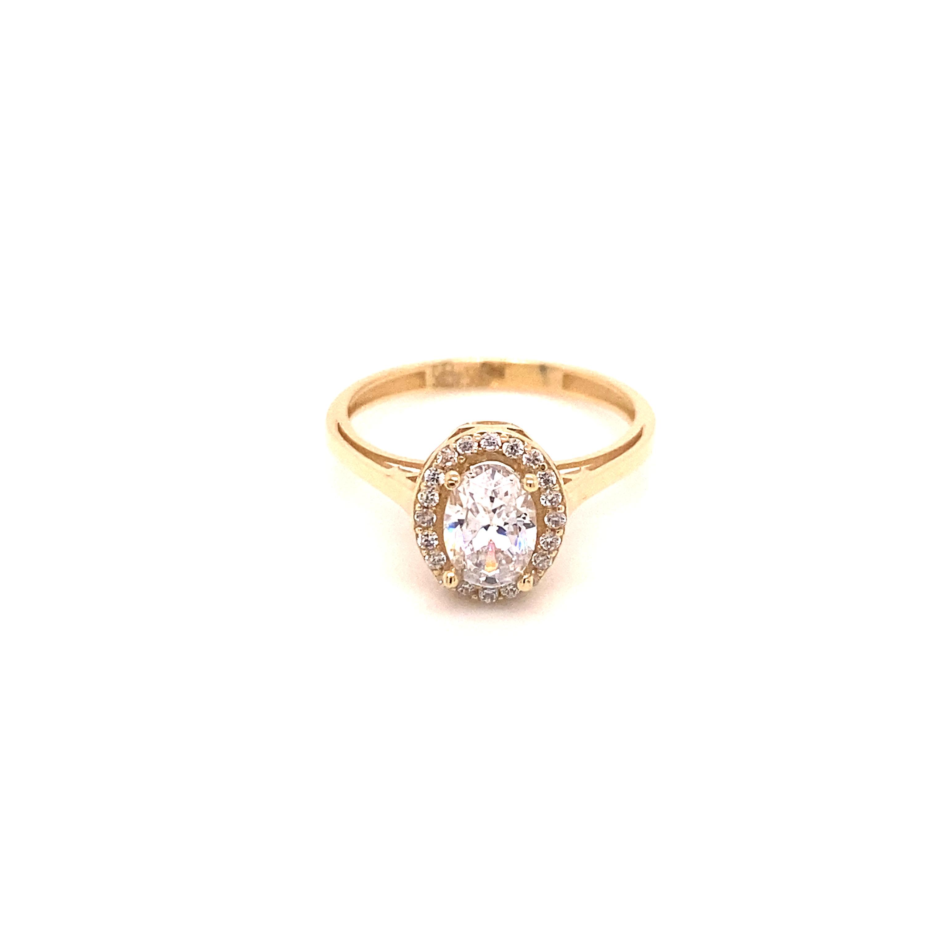 585 Gold Ring | Round