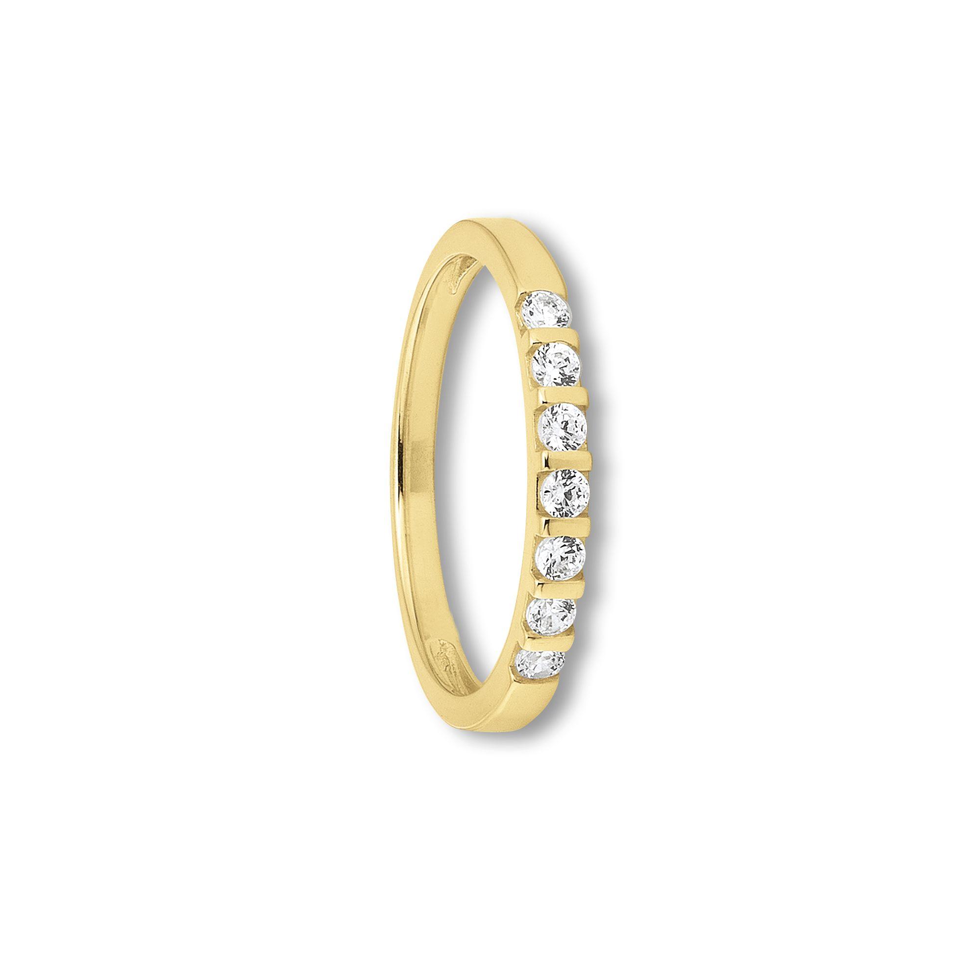 333 Gold | Ring 7 Steine