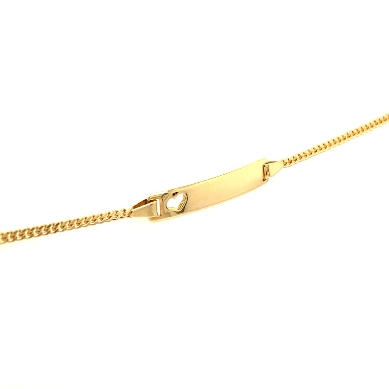 585 Gold Armband | Herz