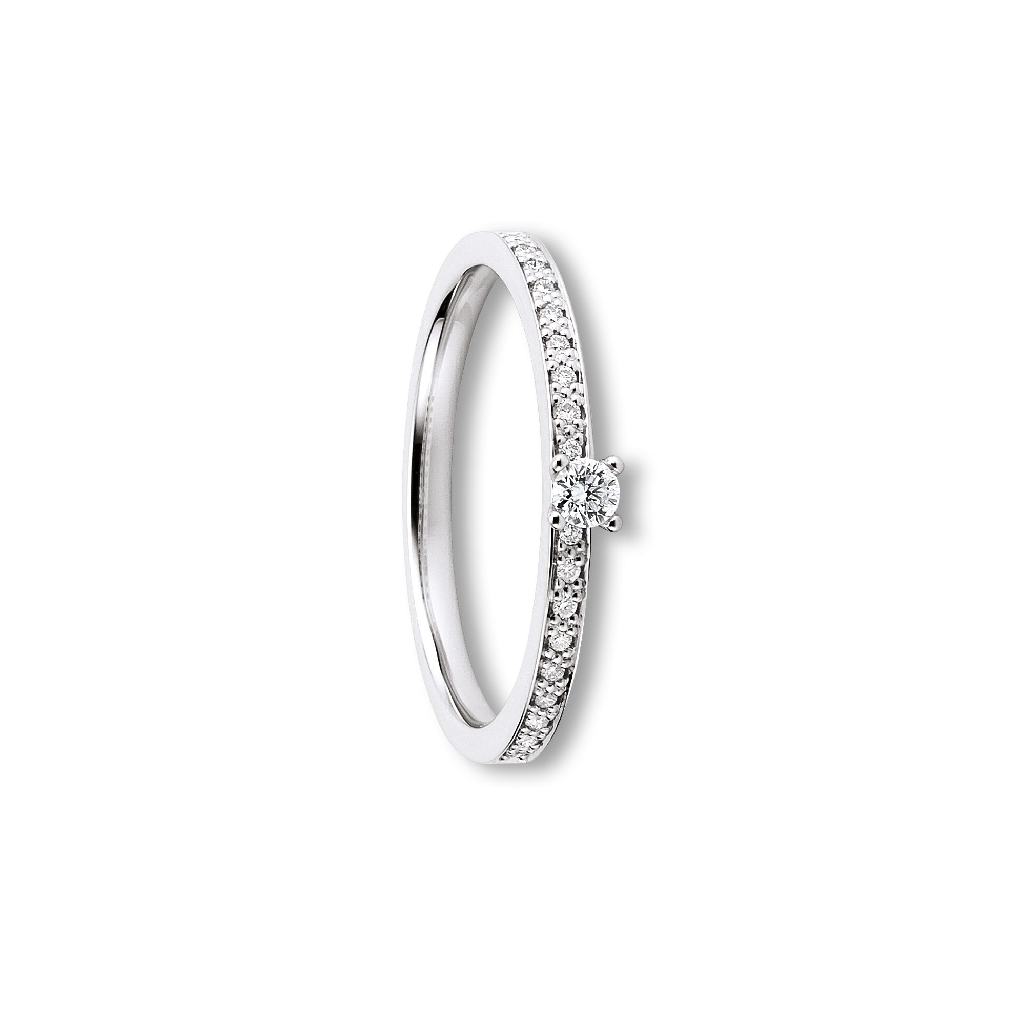 585/750 Brillant Ring - 0,15ct o. 0,20 ct