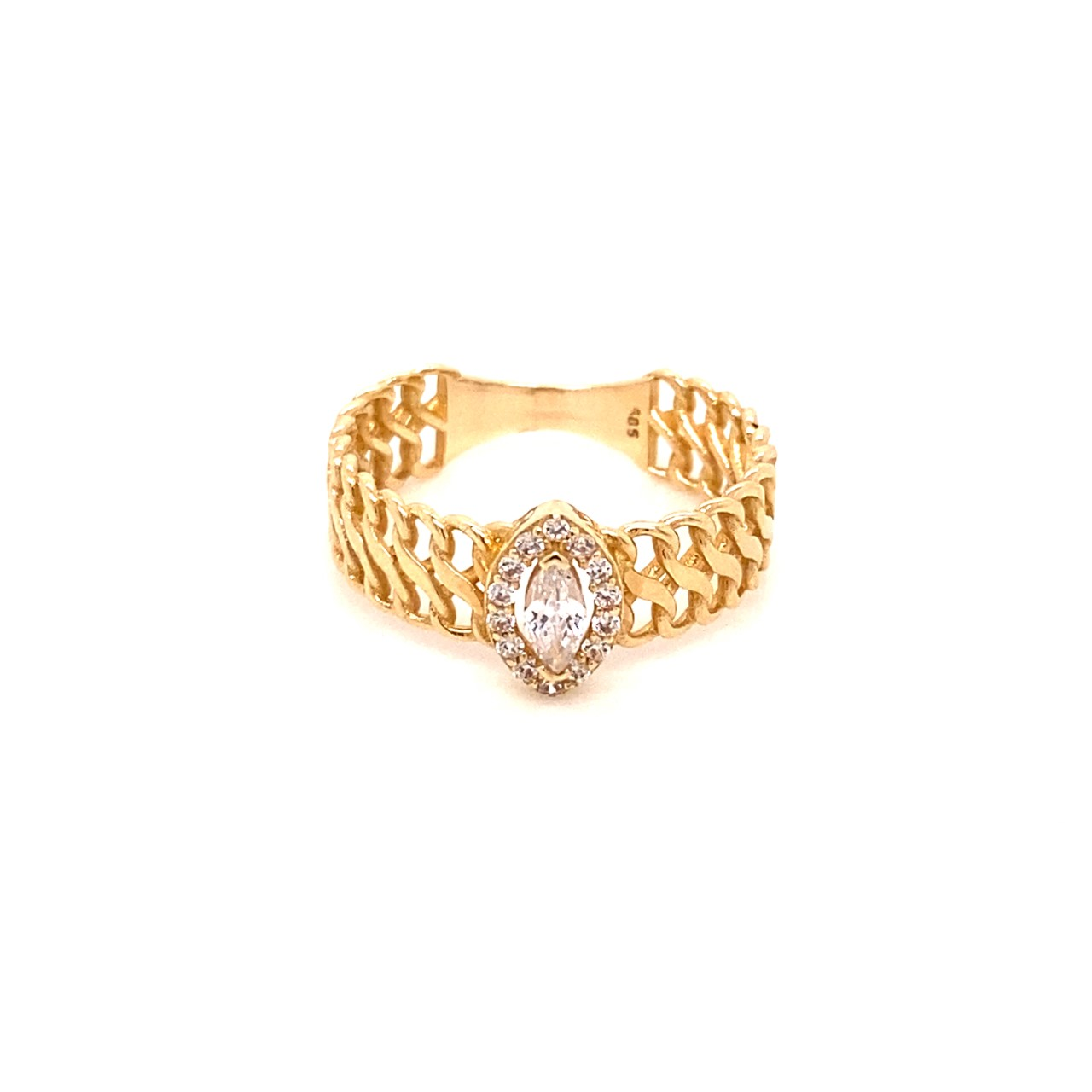 585 Gold Ring | Filigran Gr. 53