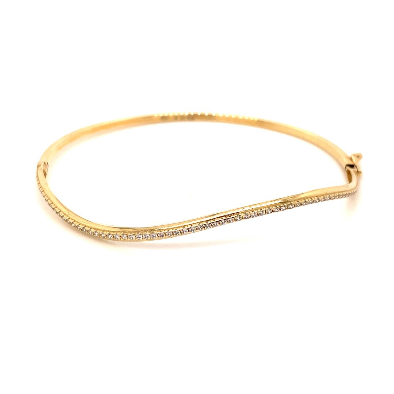 585 Gold Armreif   LOOP Gold