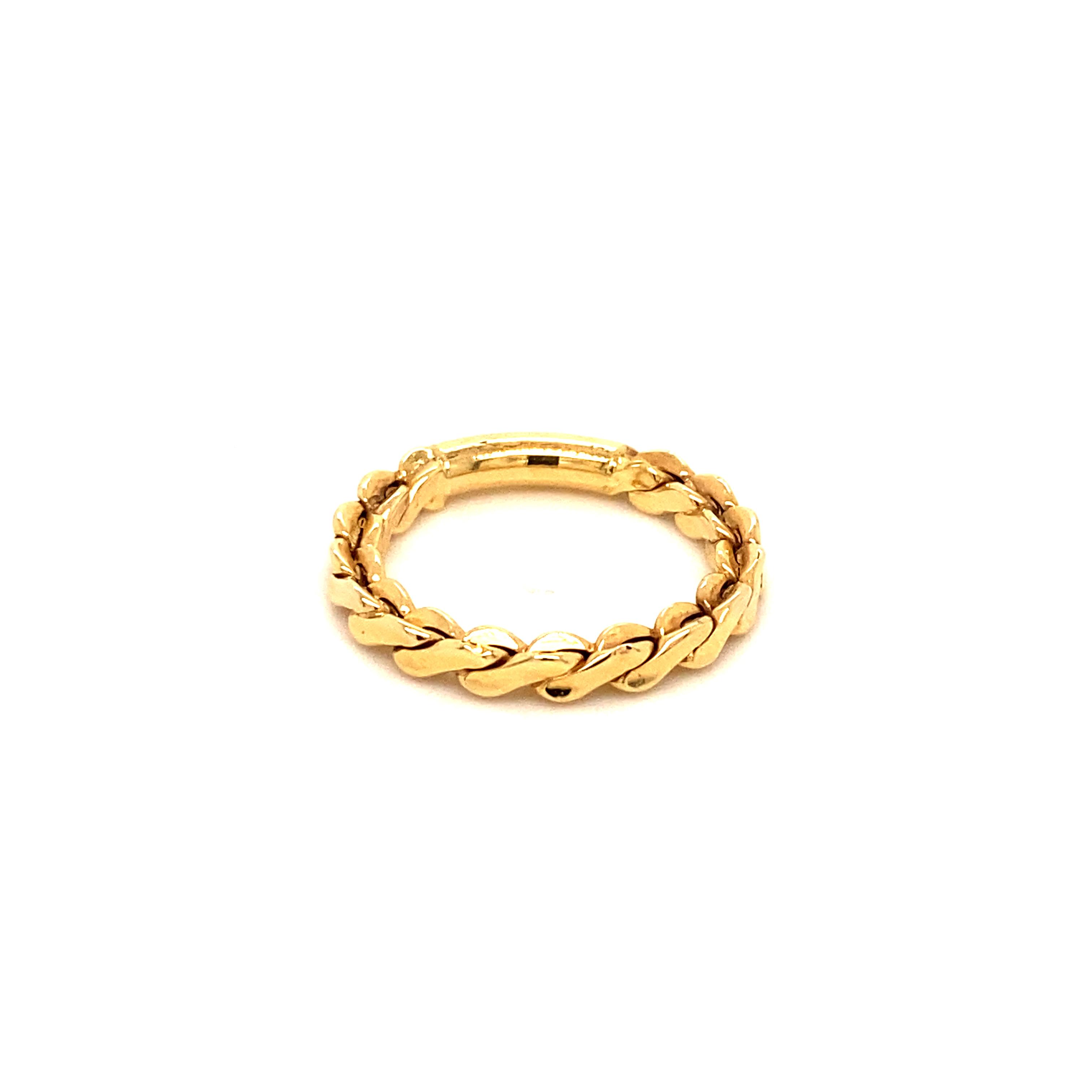 585 Gold Ring | Burgu
