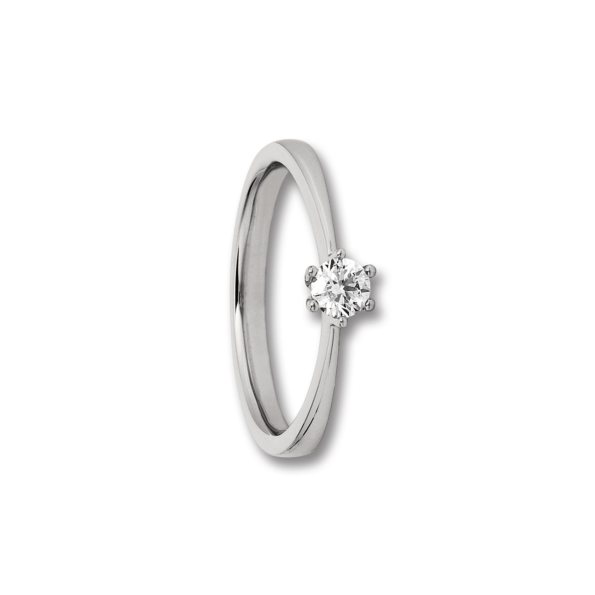 585 Gold Brillant   Ring 0,33 ct