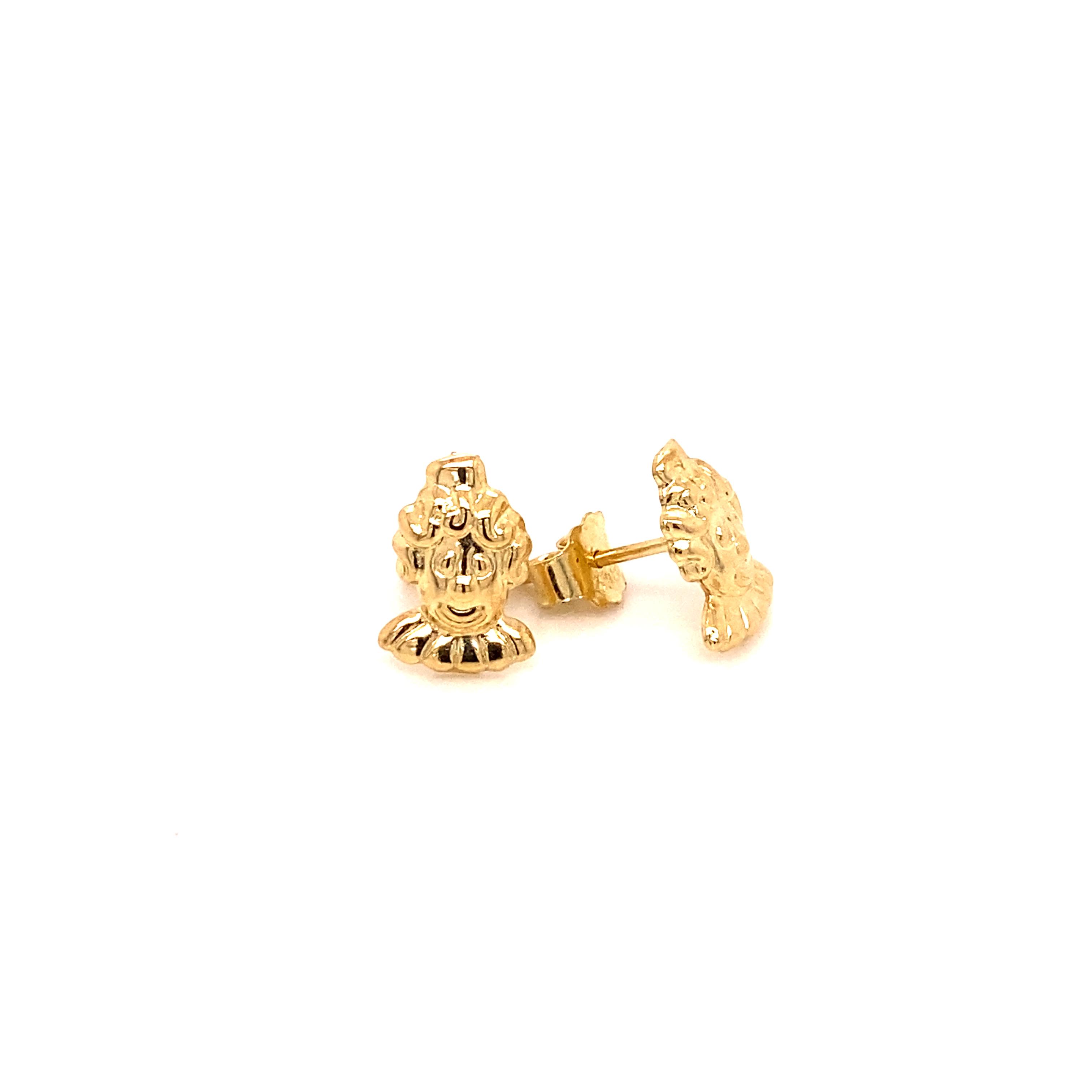 585 Gold Ohrring  | Pharaoh