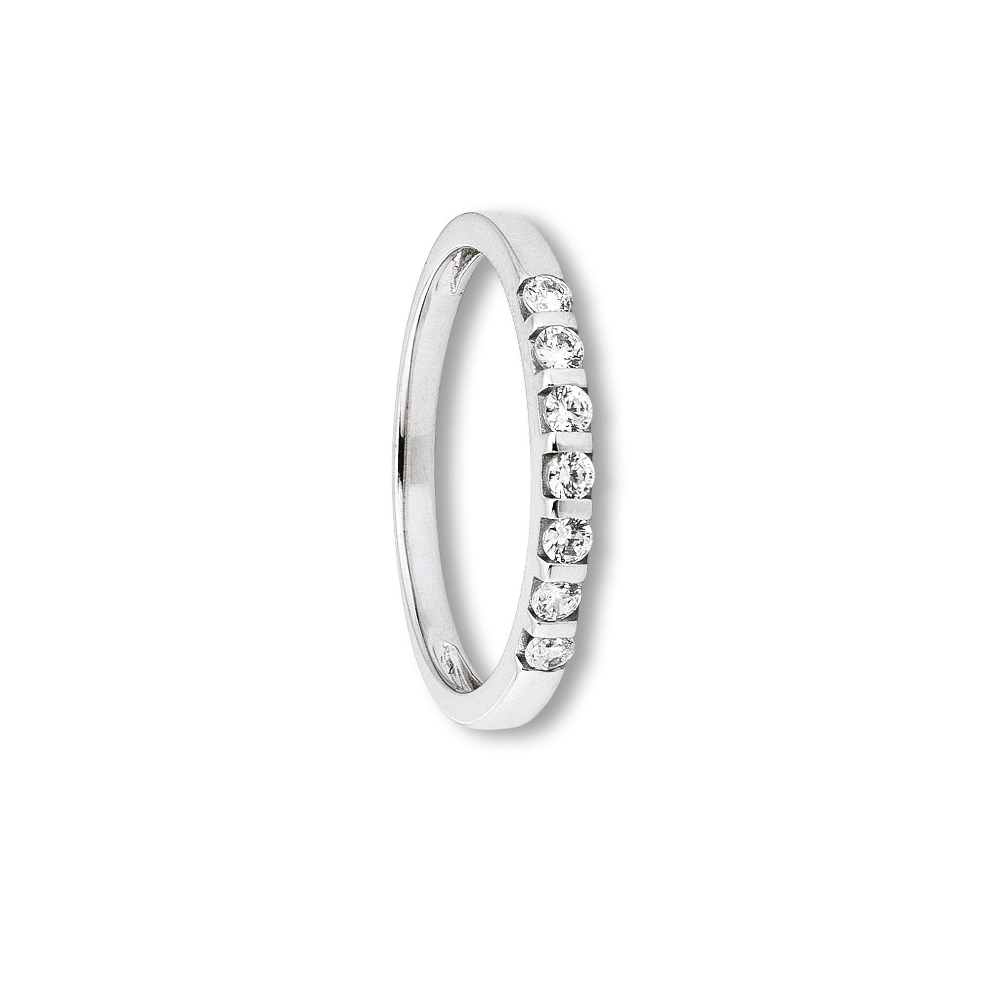 333 Weiß Gold | Ring 7 Steine