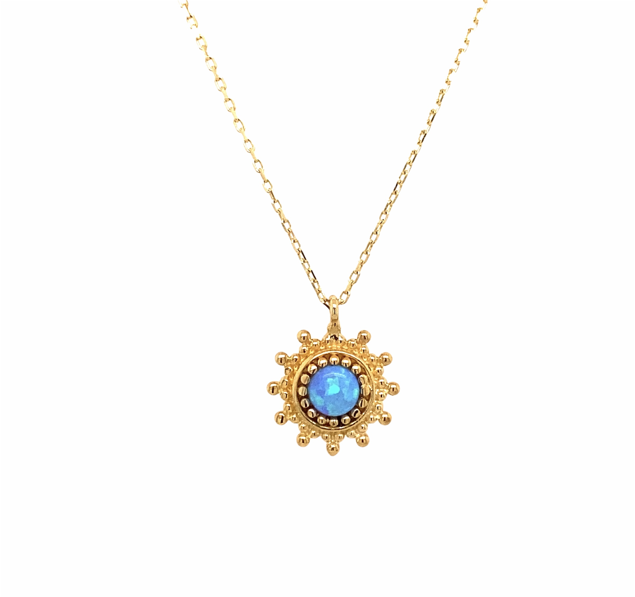 585 Goldkette | Blue Sun