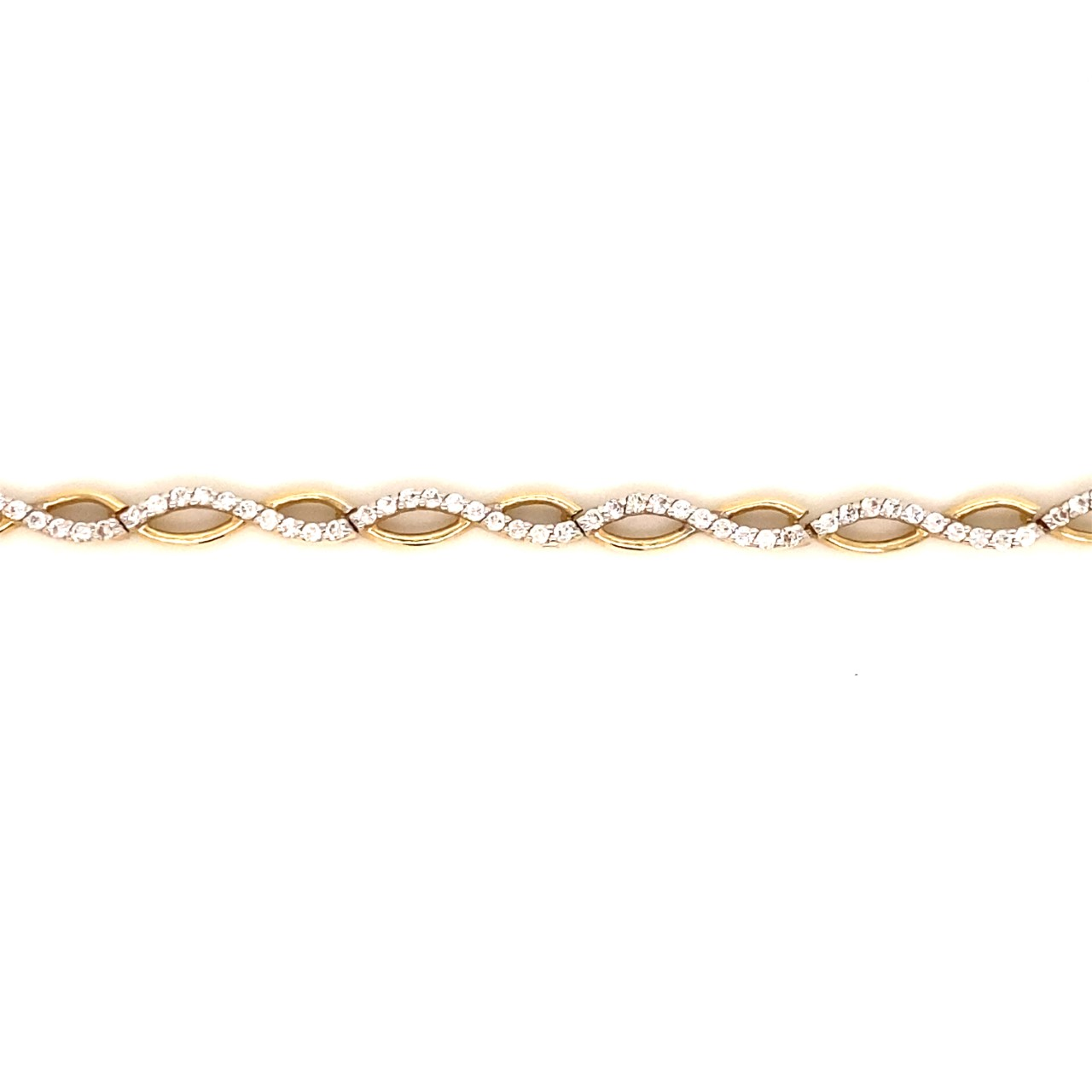 585 Gold Armband   Sonsuzluk