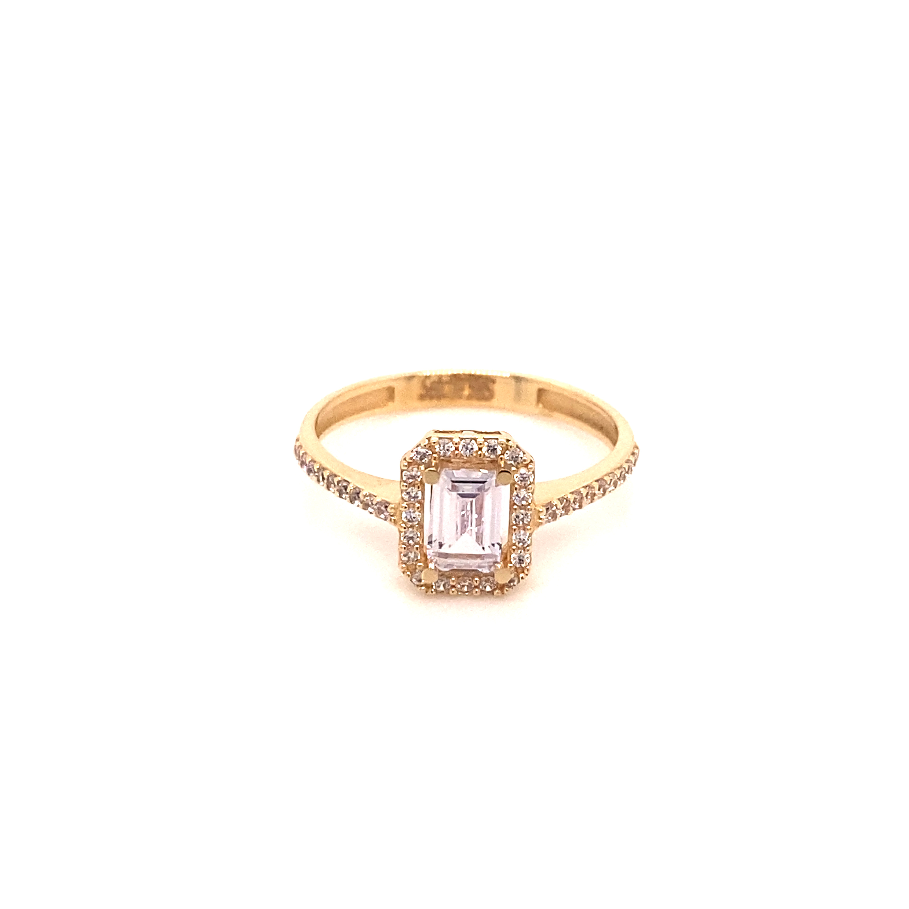 585 Gold Ring | Baguette 2.0