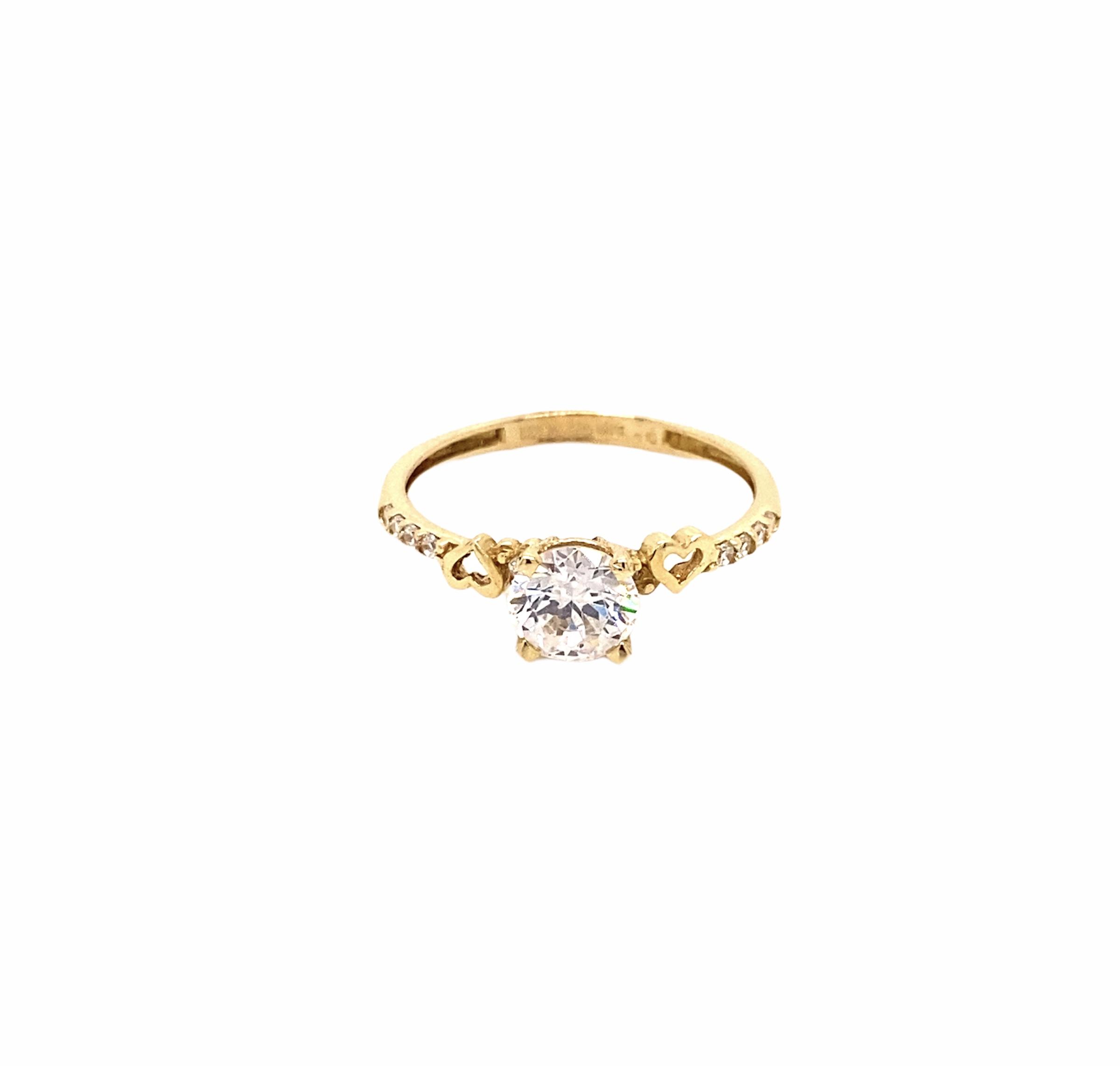 585 Kocak Gold Ring | Kalp