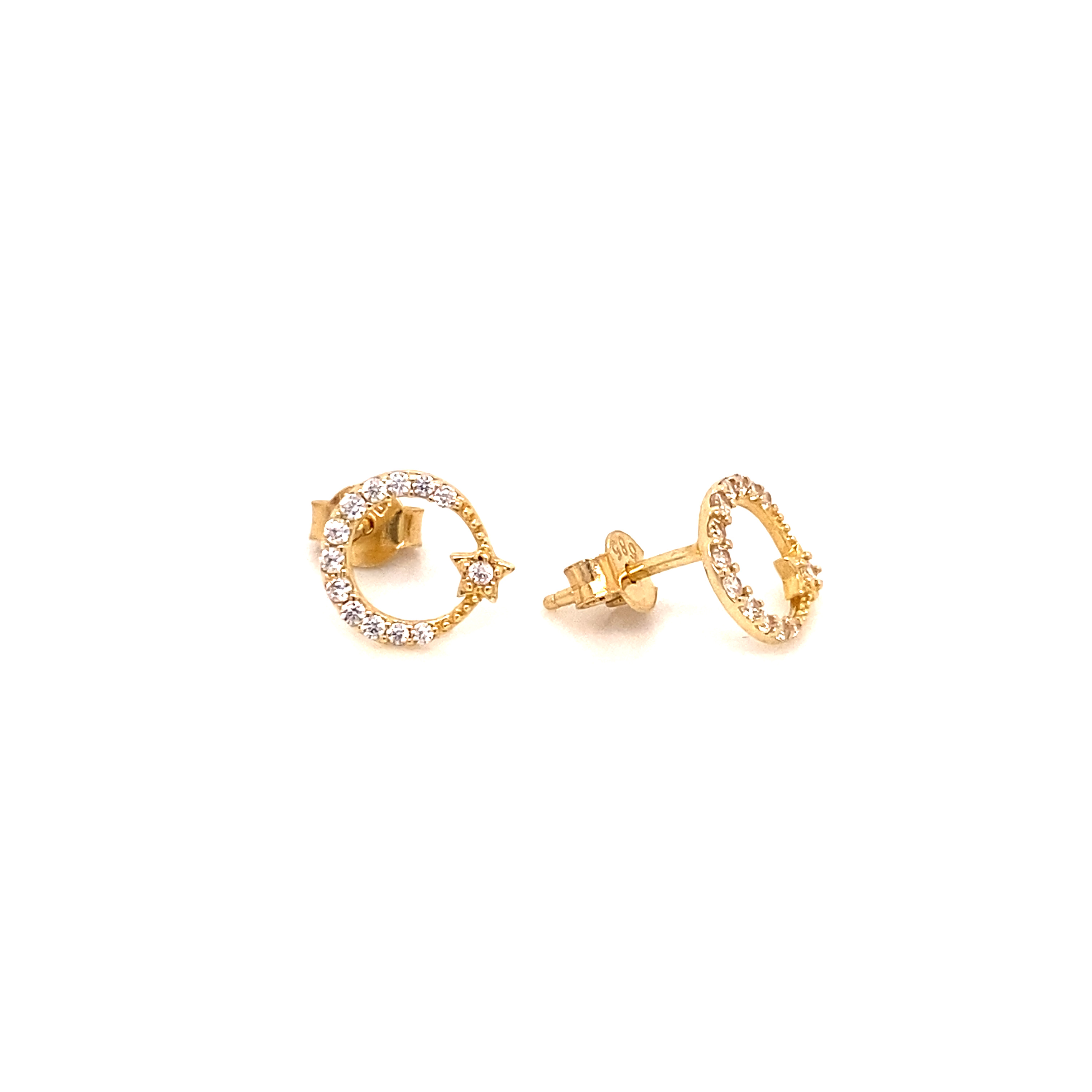 585 Gold Ohrring  | Türkiyem
