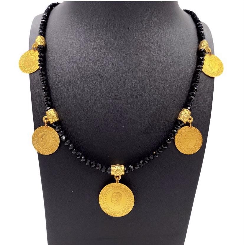 Halskette | für 916er Goldmünze