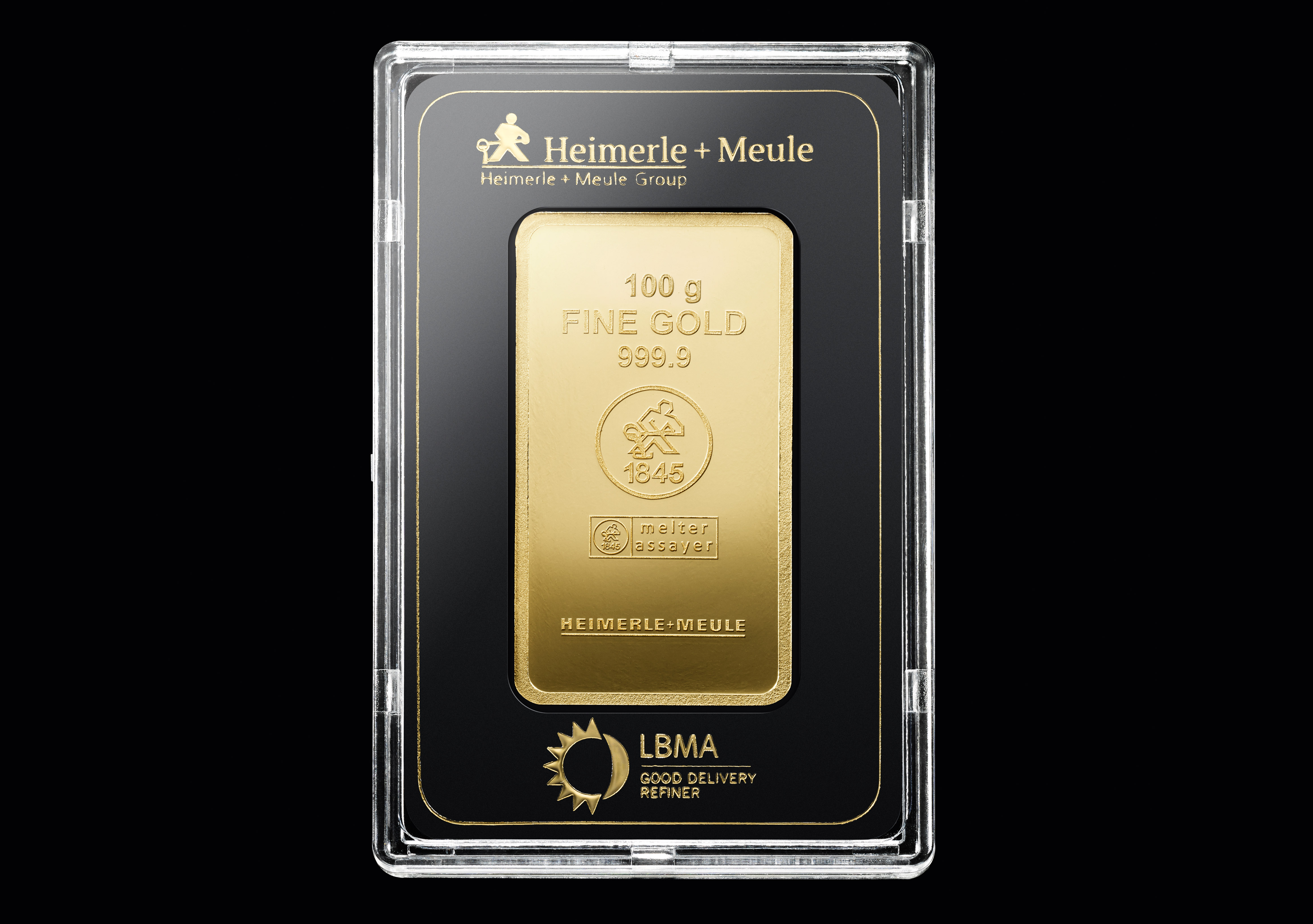 999 Fein Gold | 100 Gramm Goldbarren
