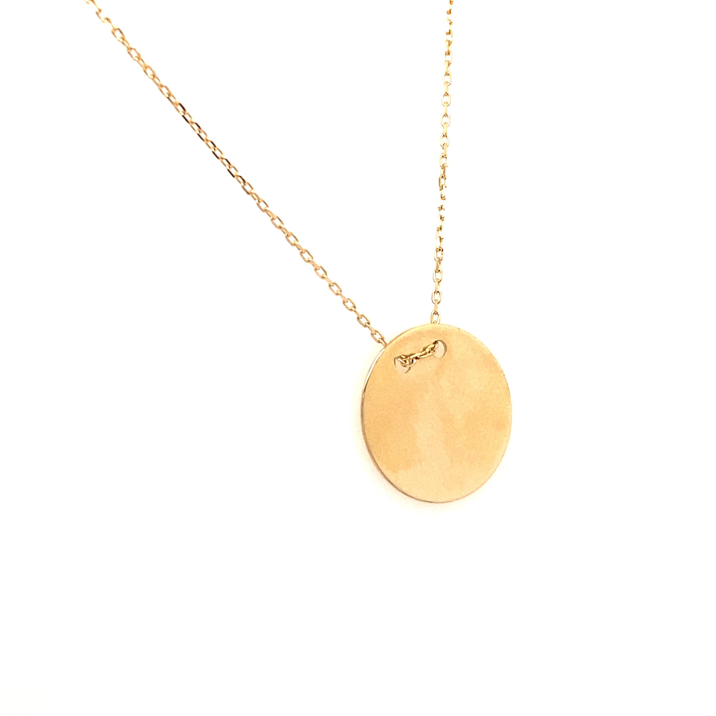 585 Goldkette | Plate