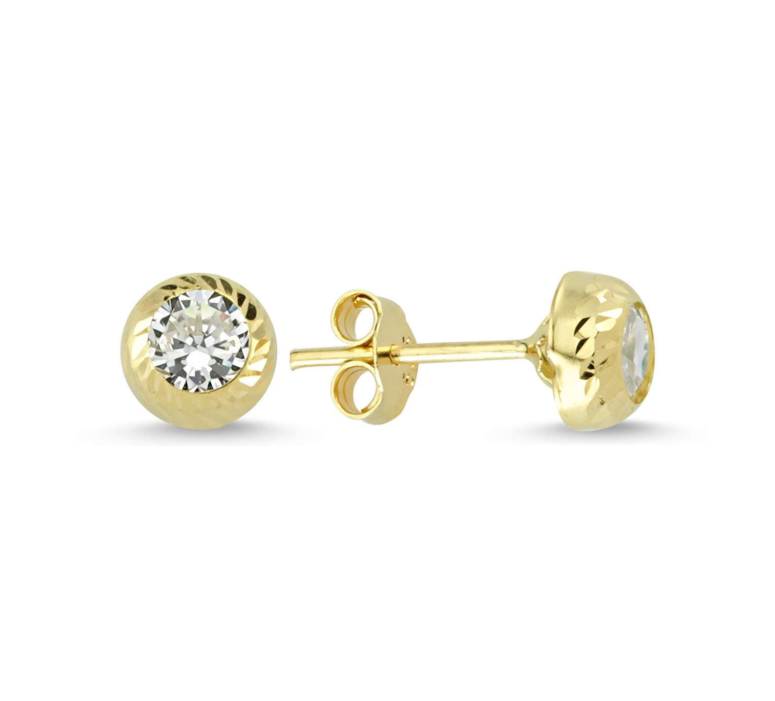 585 Kocak Gold Ohrring  | One Stone