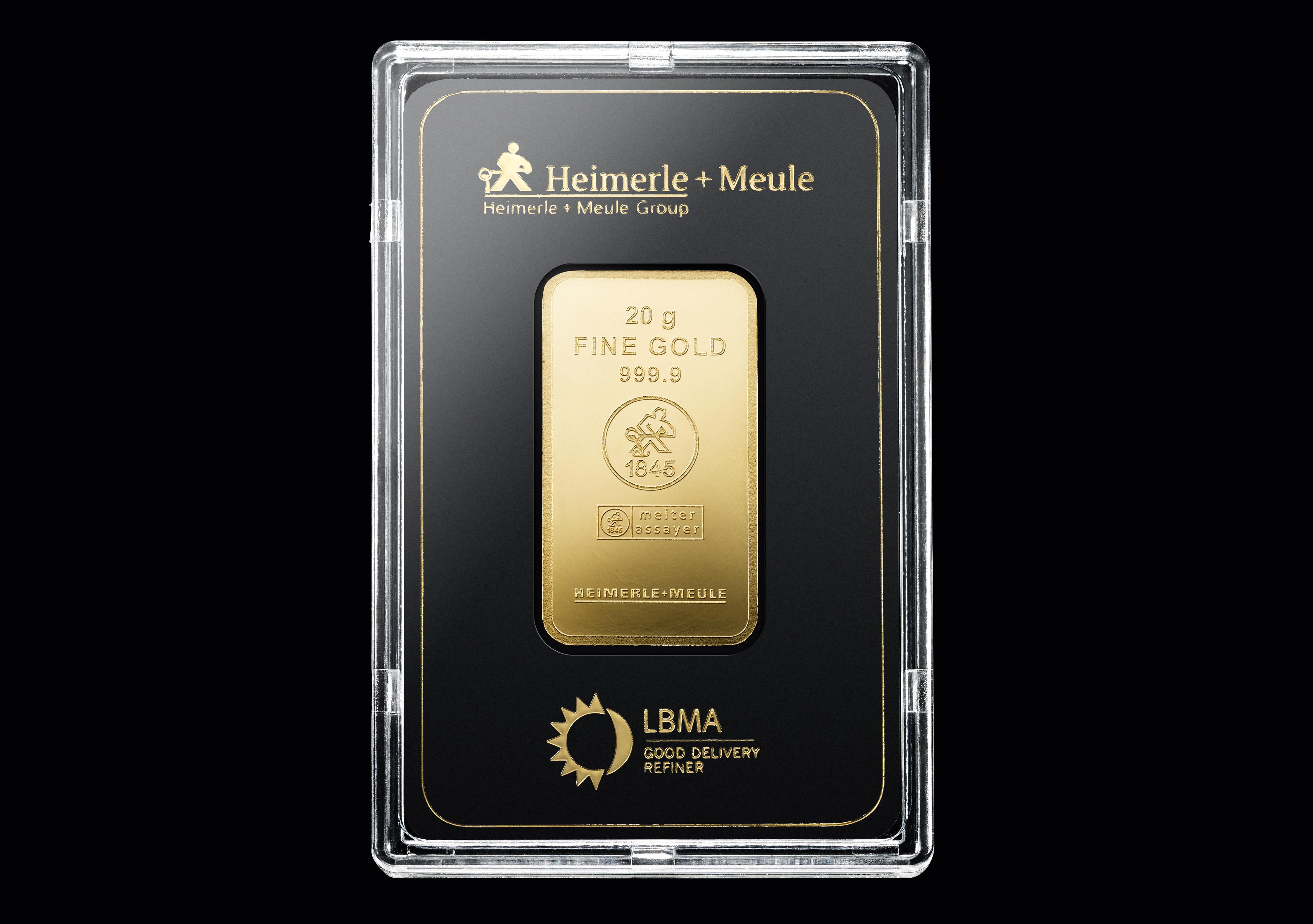 999 Fein Gold | 20 Gramm Goldbarren