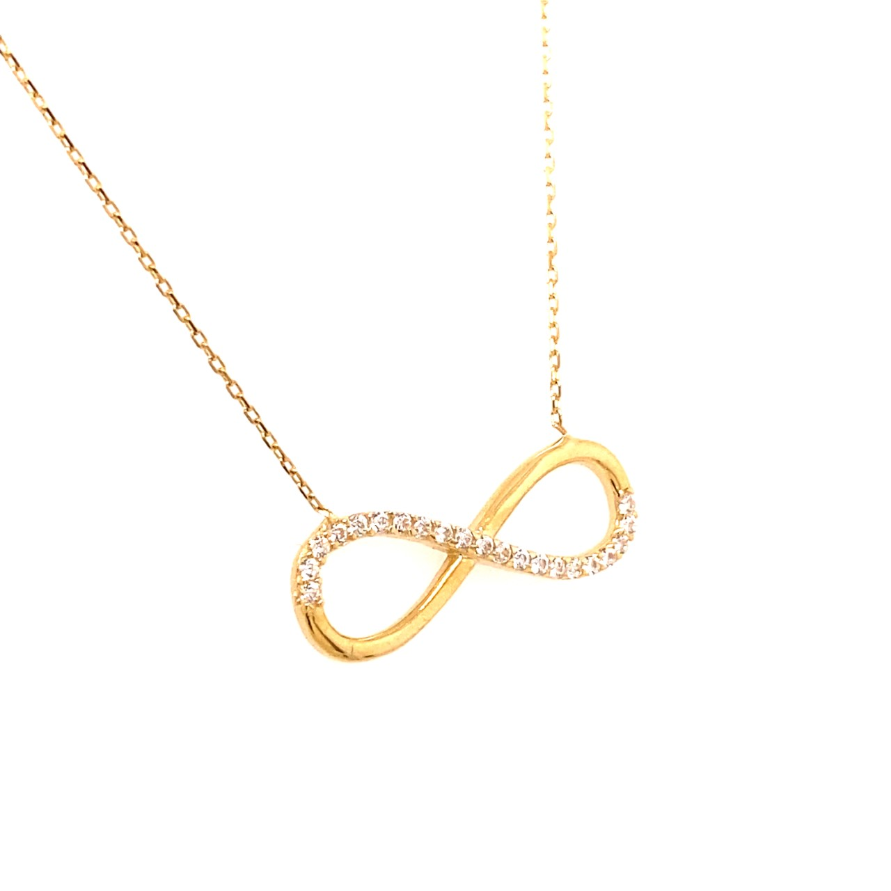 585 Goldkette | Sonsuzluk medium