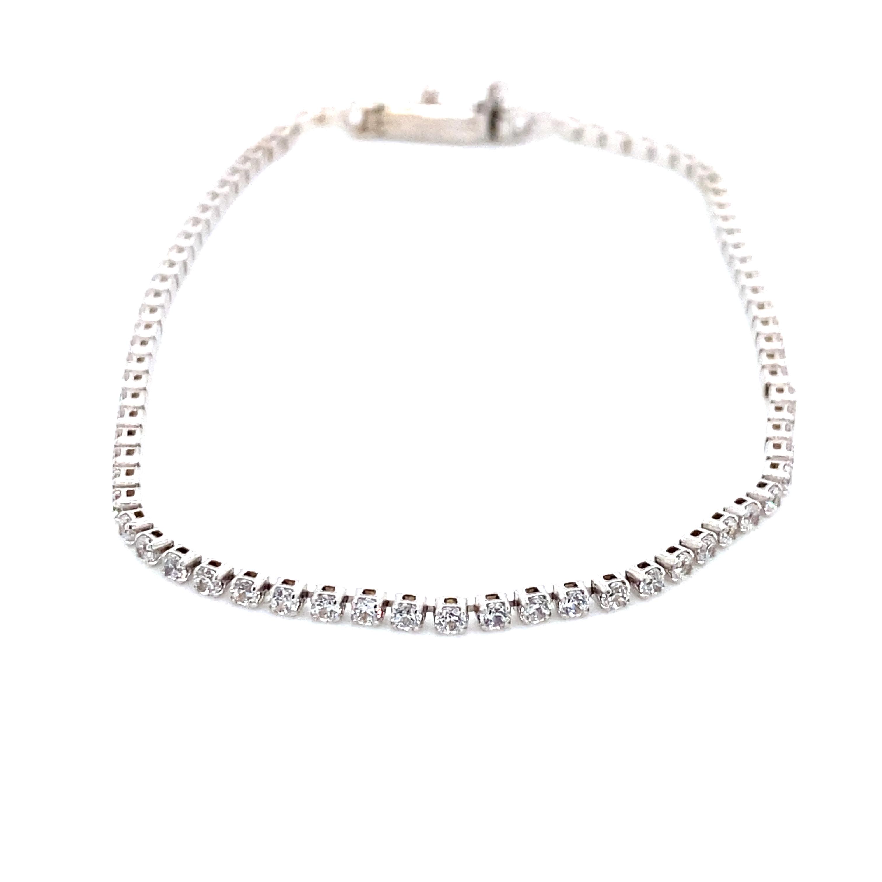 585 Gold Armband| Zirkonia