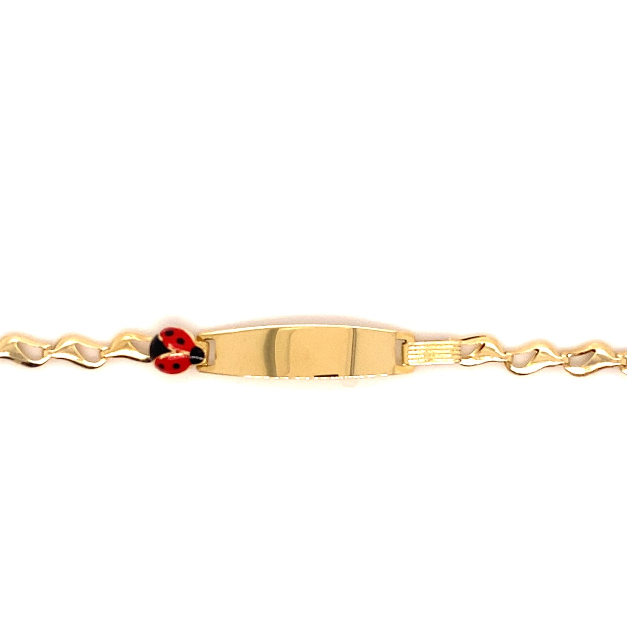 585 Gold Armband | Marienkäfer