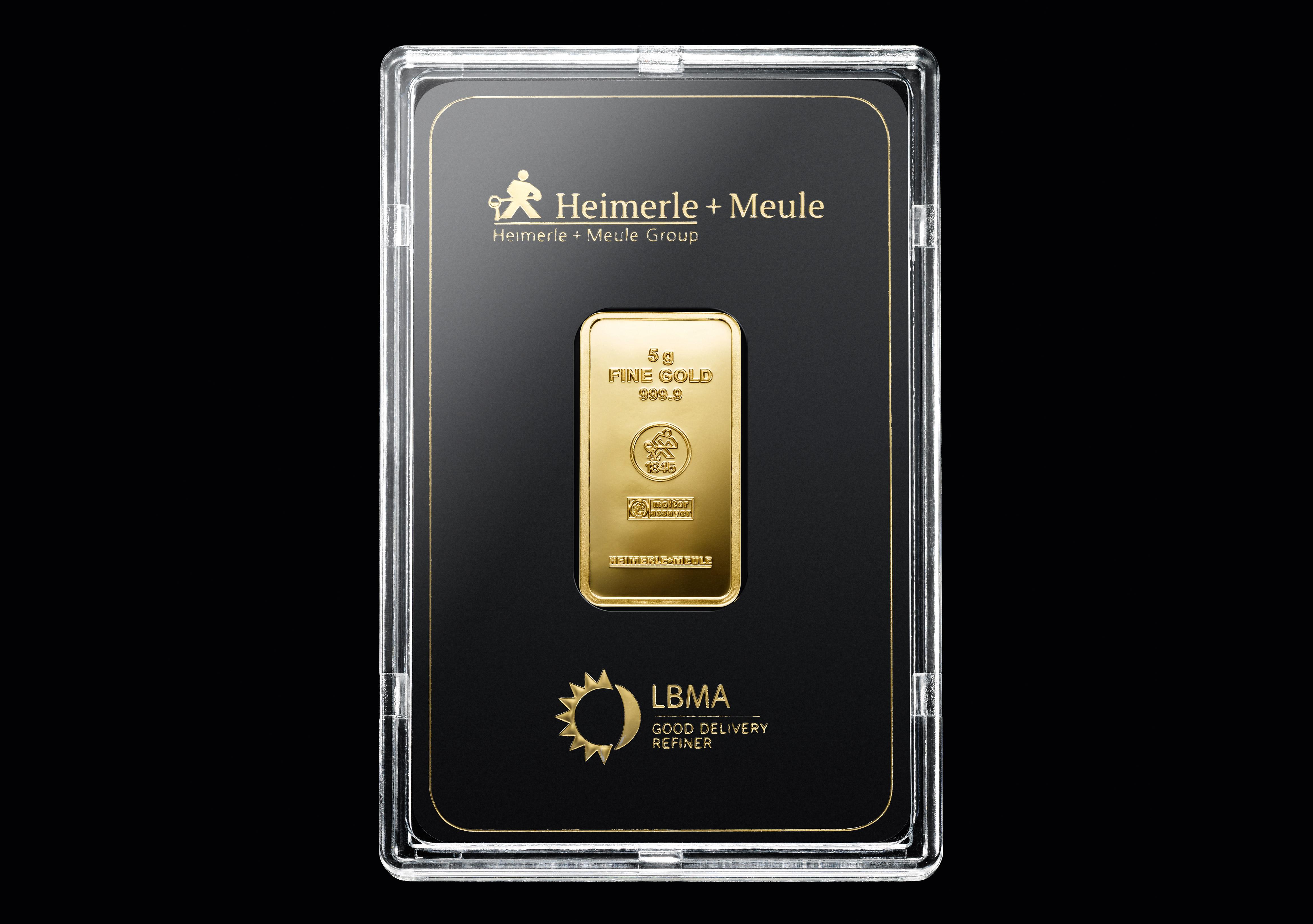 999 Fein Gold | 5 Gramm Goldbarren