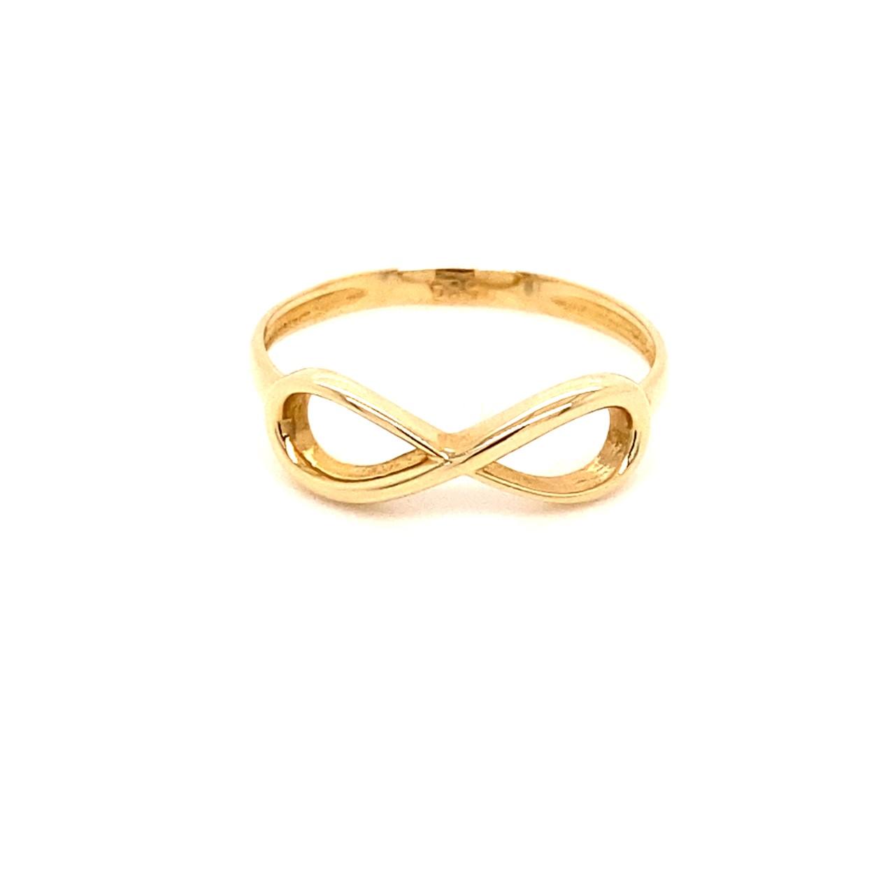585 Gold Ring |Sonsuzluk Gr. 57