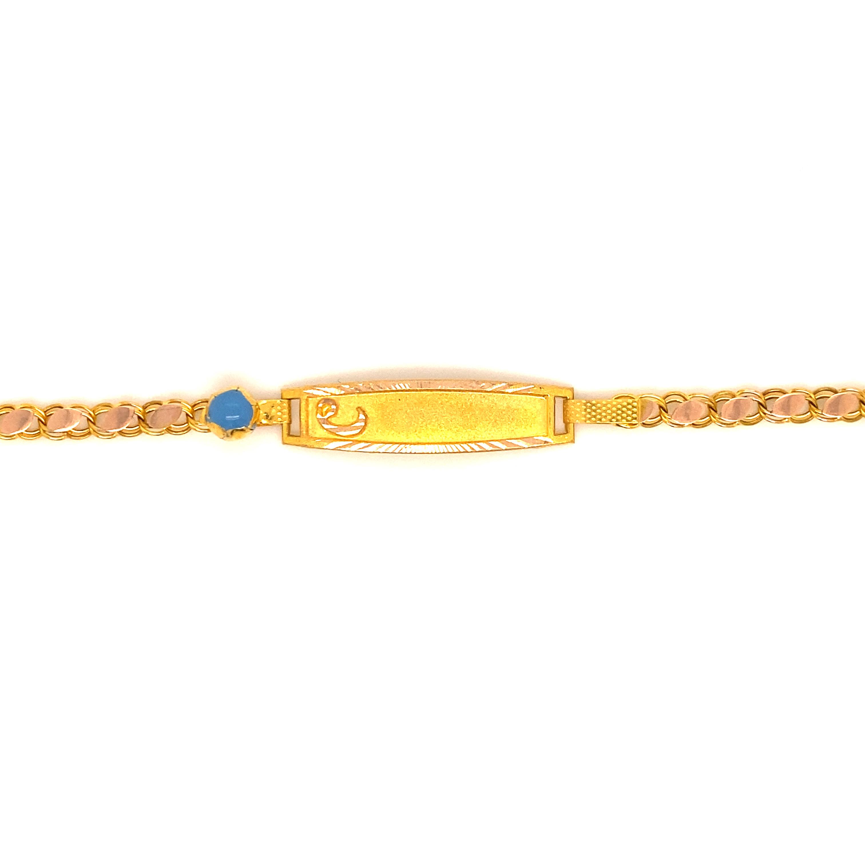 585 Gold Armband  Vav
