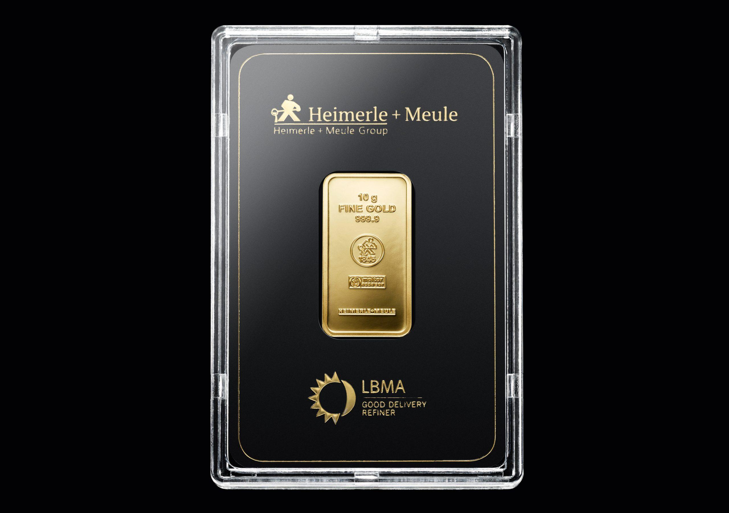 999 Fein Gold | 10 Gramm Goldbarren