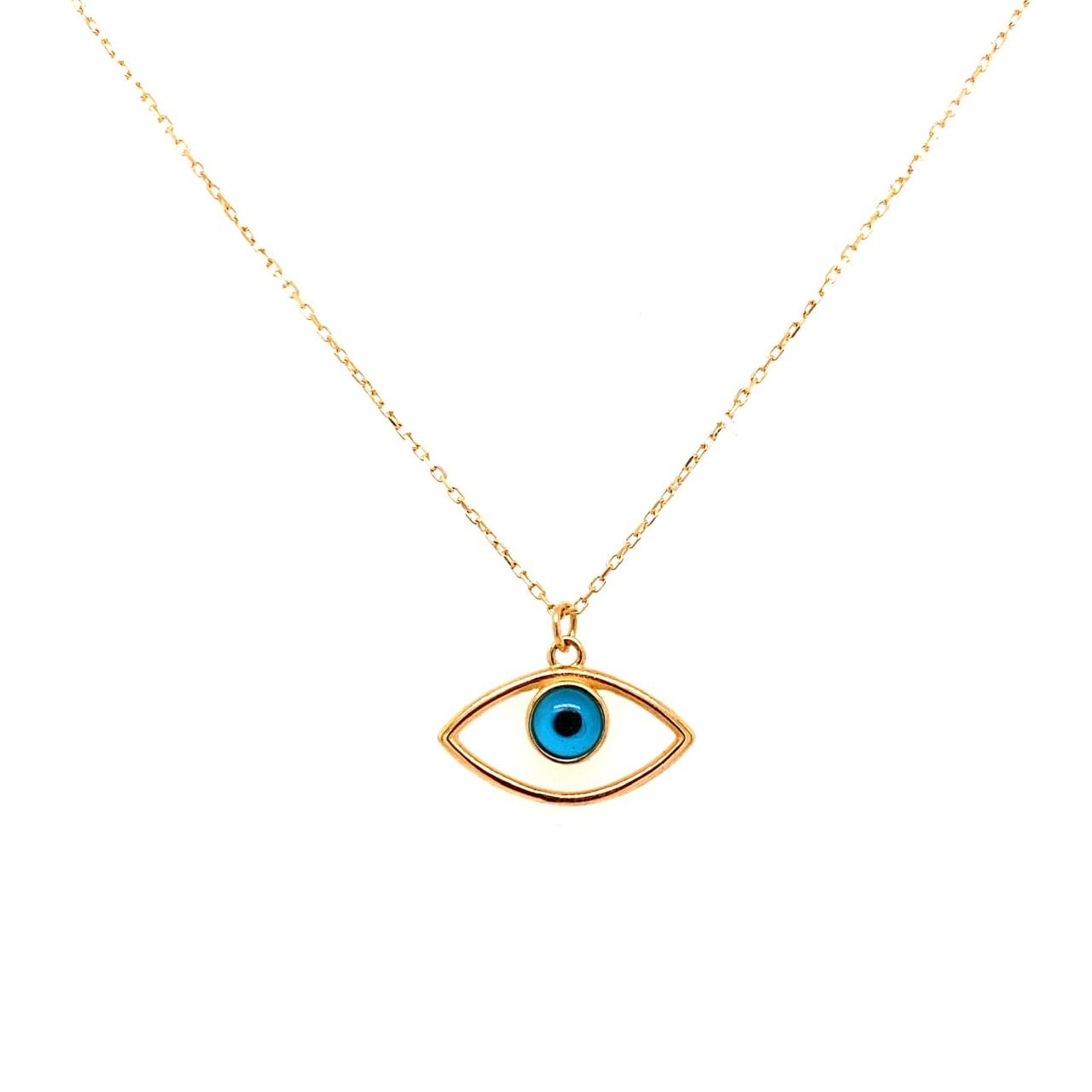 585 Goldkette | Eye oval