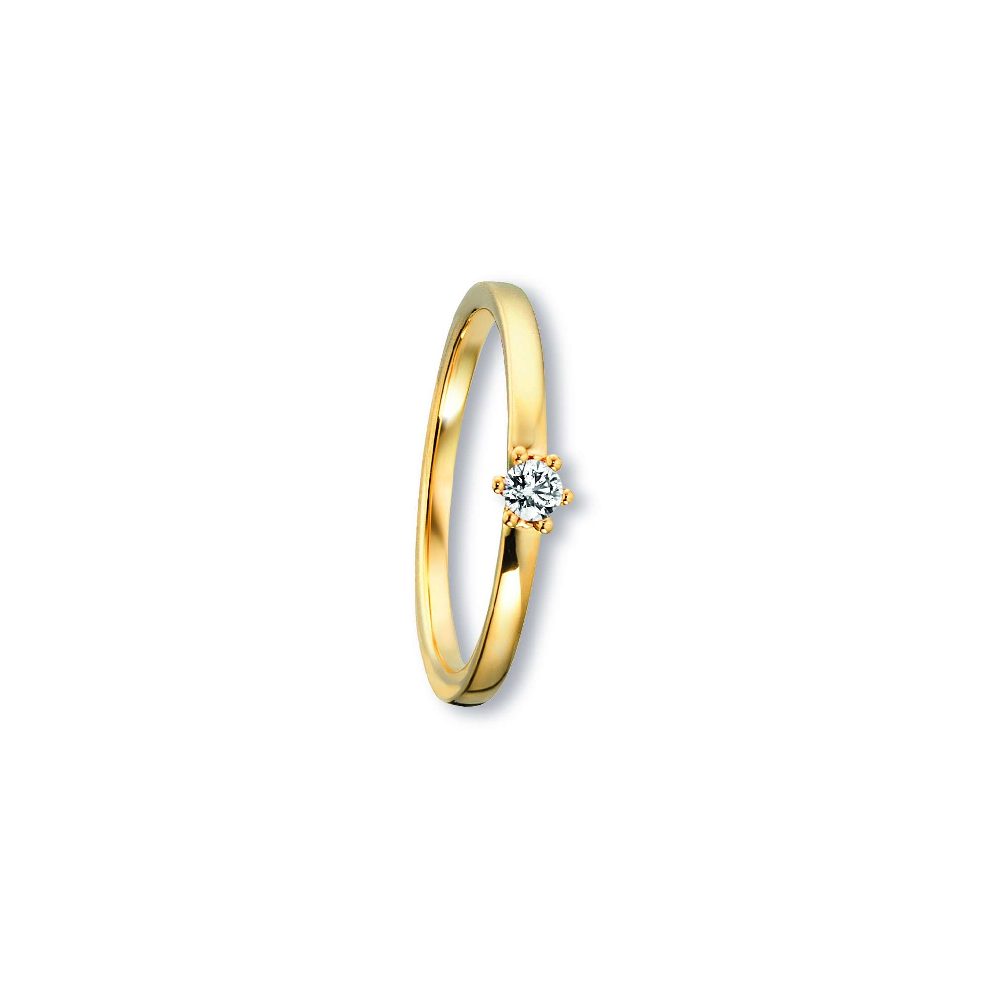 585 Gold Brillant | Ring 0,09 ct