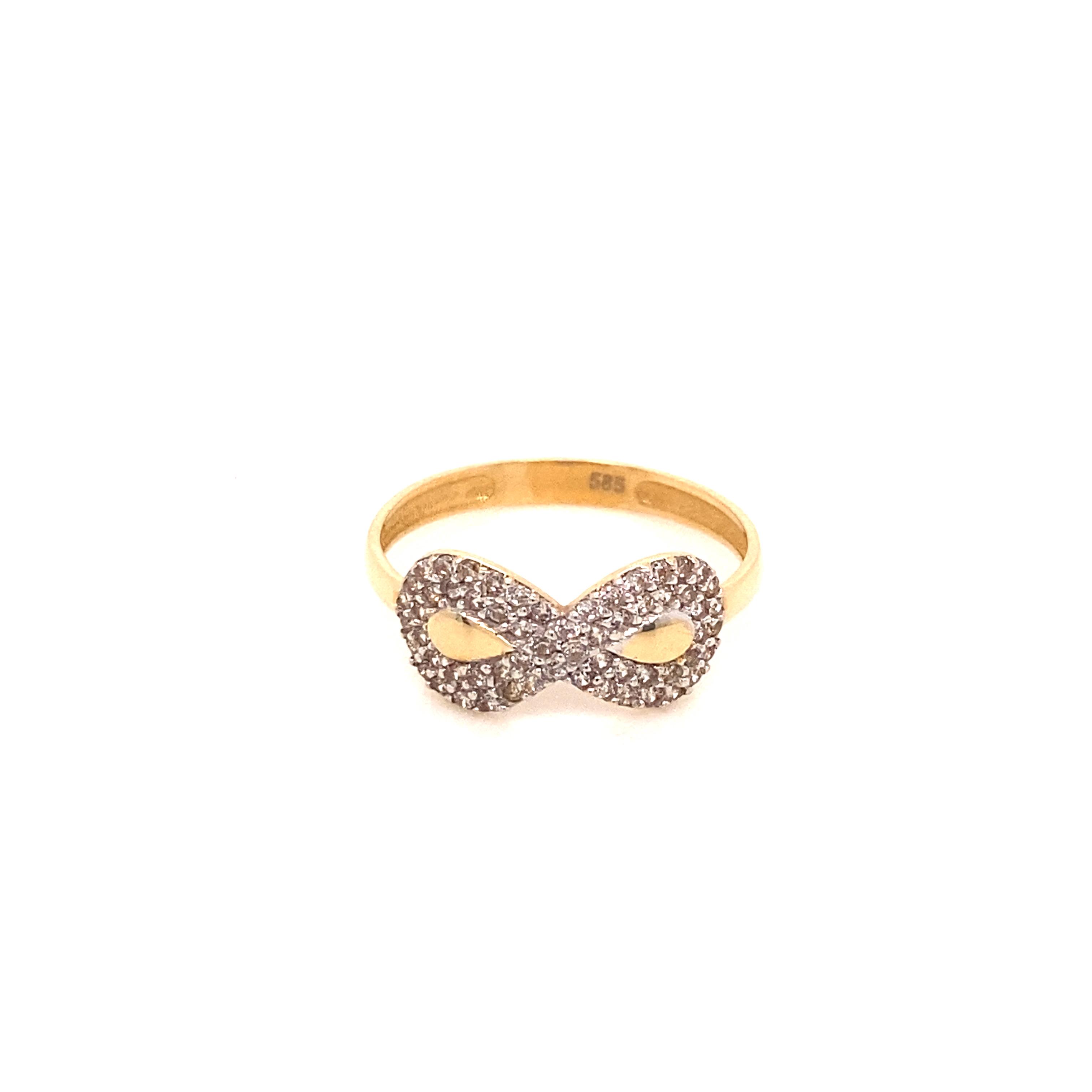 585 Gold Ring |Sonsuzluk