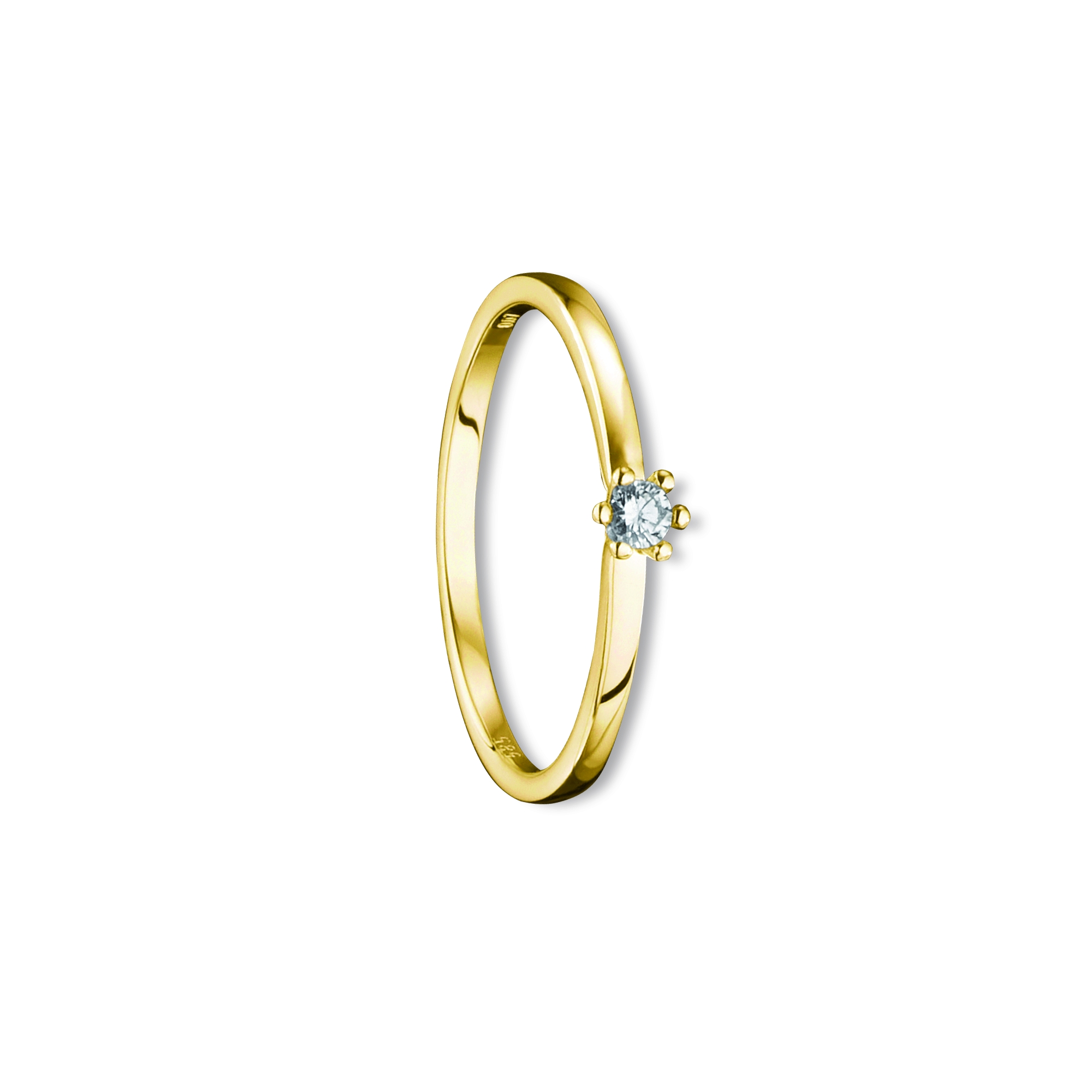 585 Gold Brillant | Ring 0,07 ct