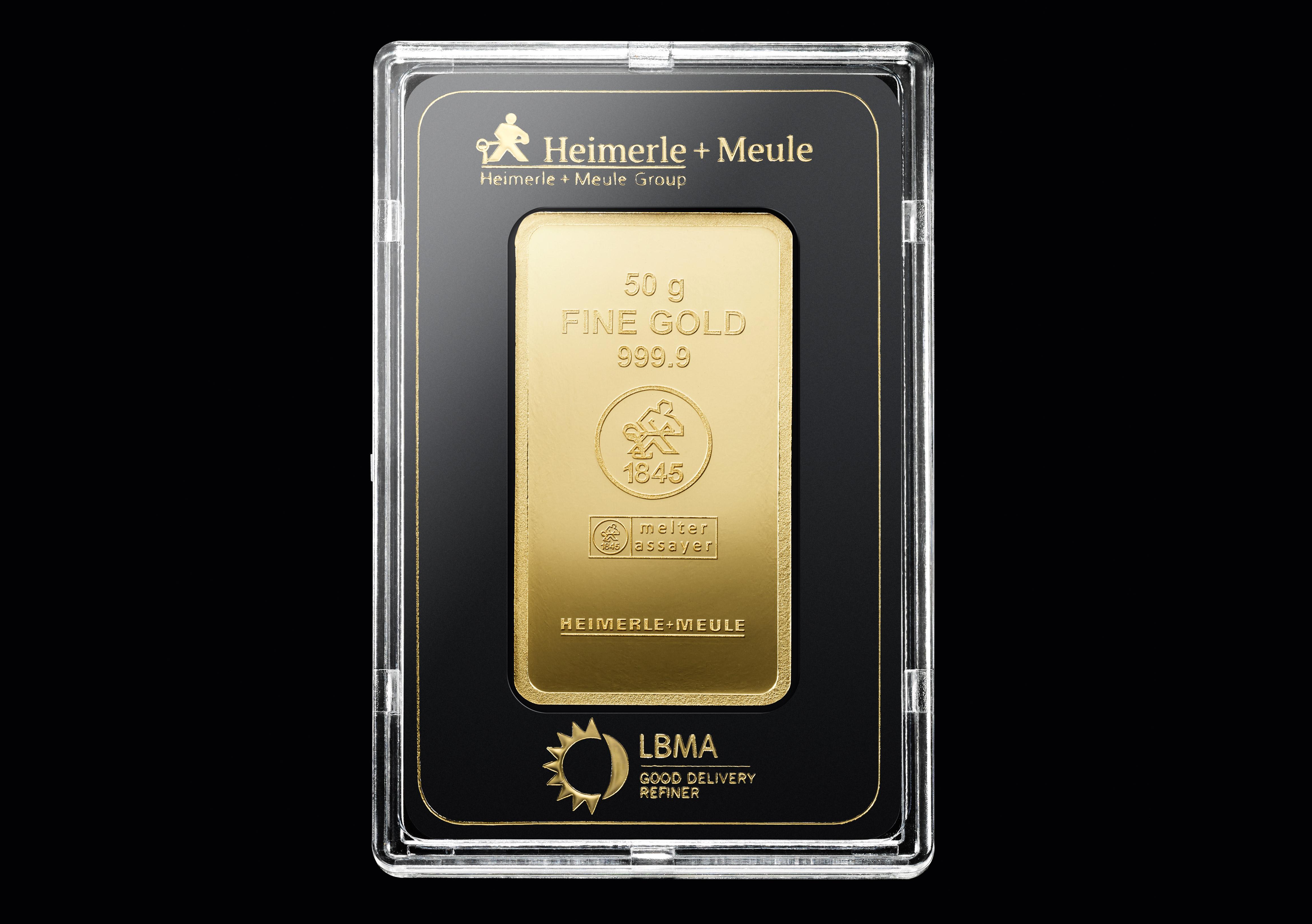 999 Fein Gold | 50 Gramm Goldbarren
