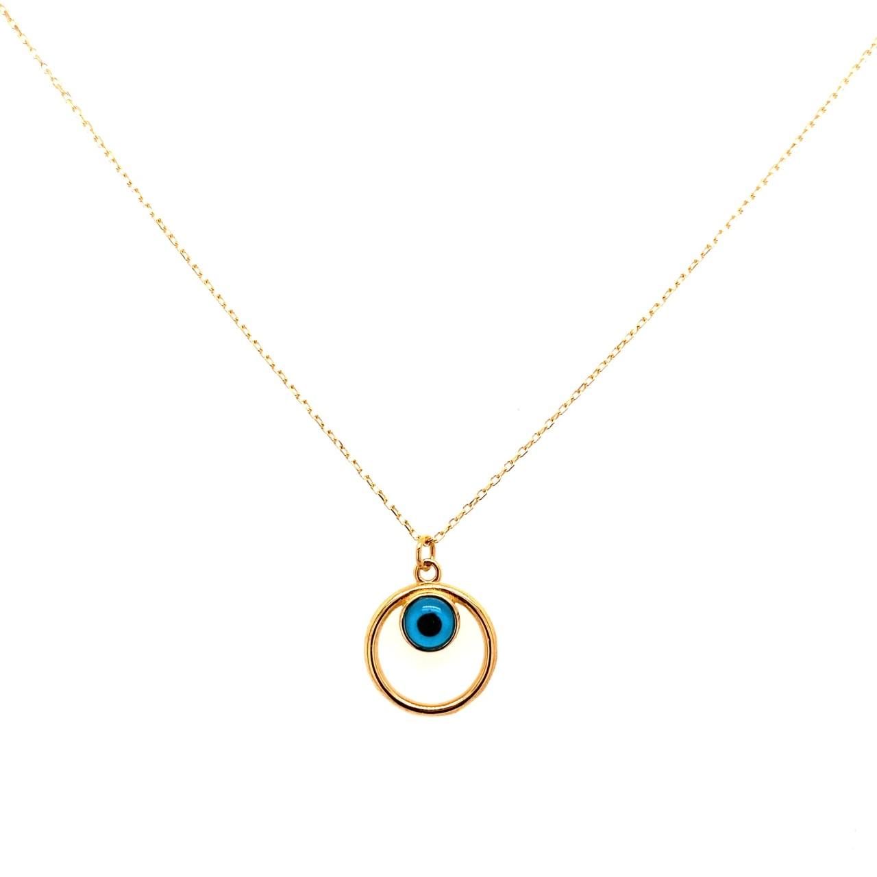 585 Goldkette | Auge Rund