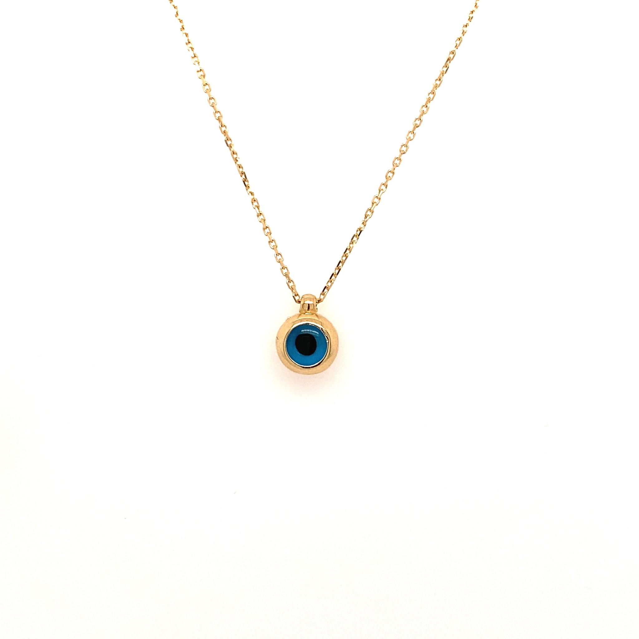 585 Goldkette | Eye medium