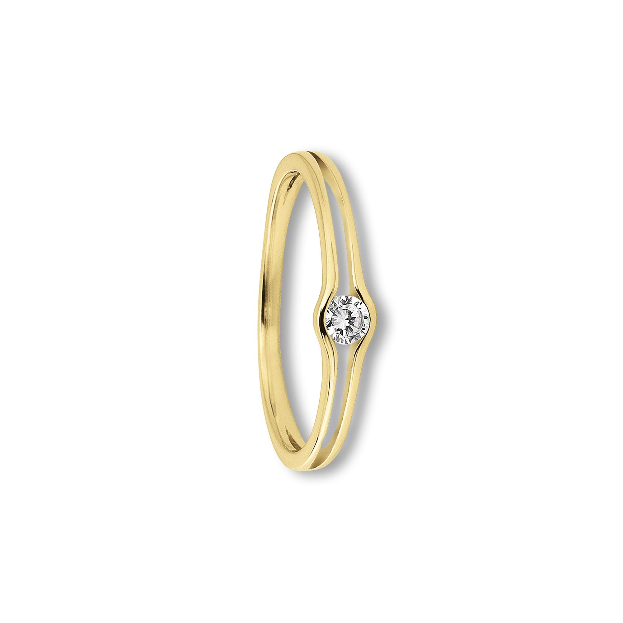 333 Gold | Ring Zirkonia