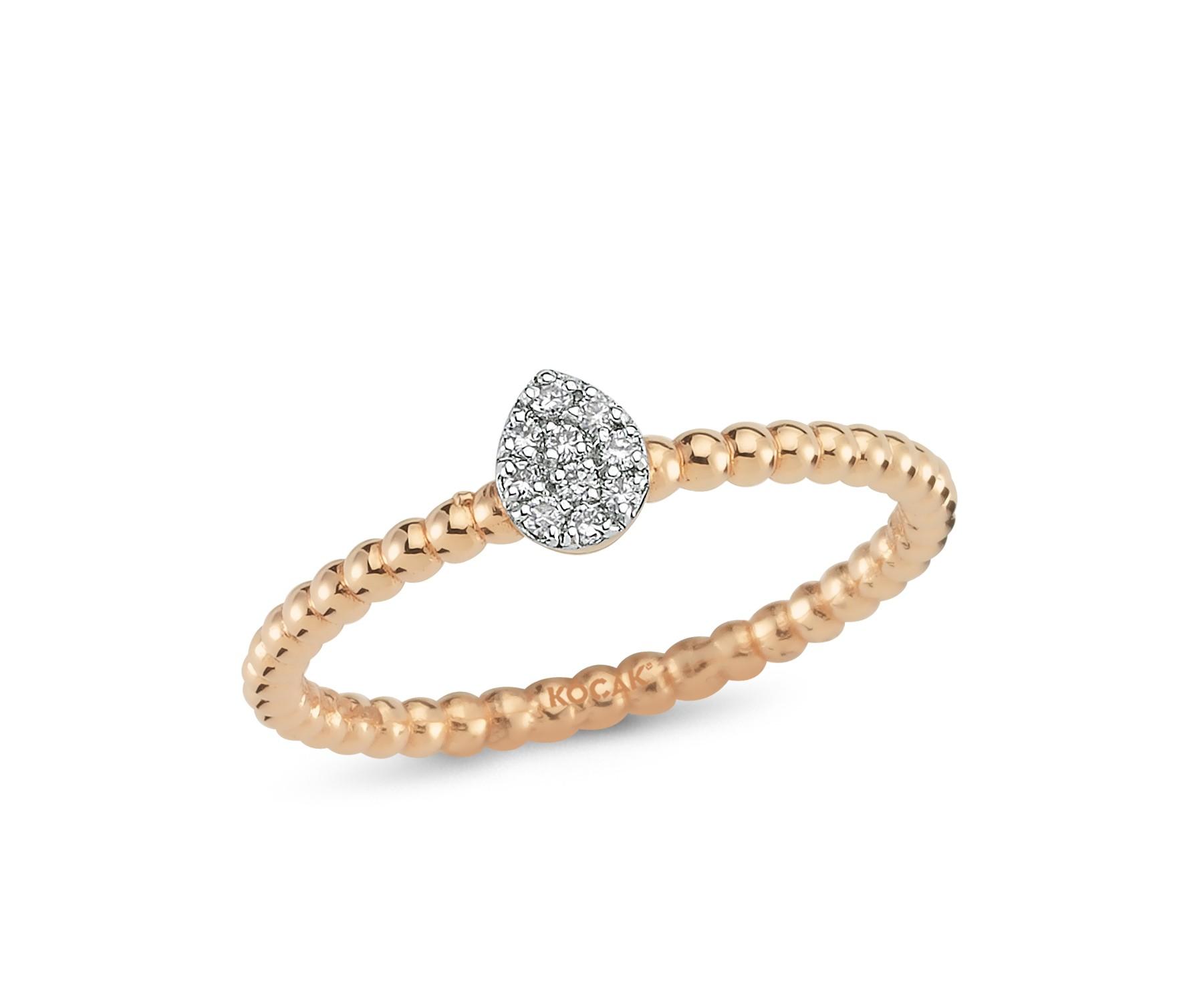 585 Kocak Roseold Ring | PIRLANTA ROSE YÜZÜK