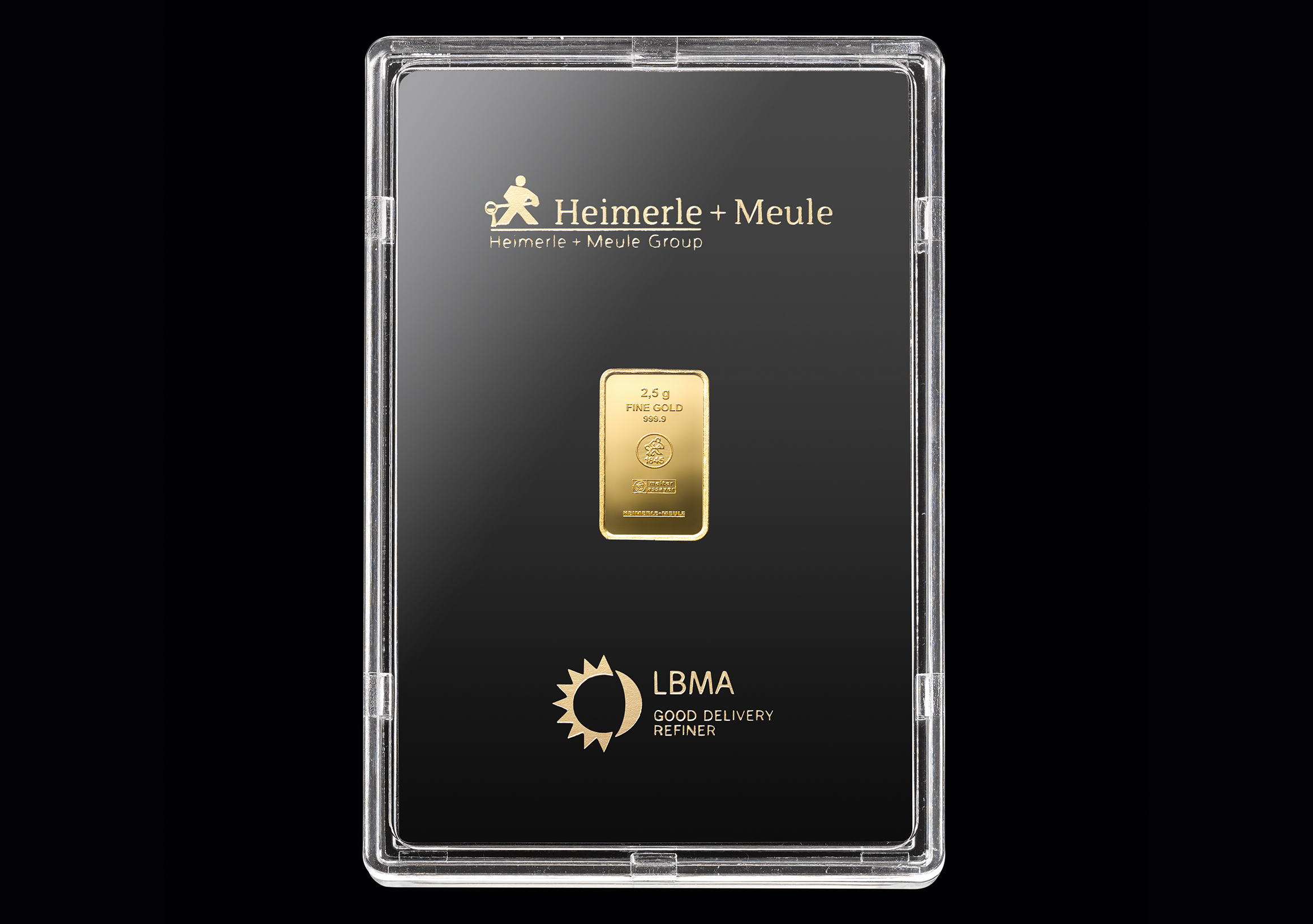 999 Fein Gold | 2,5 Gramm Goldbarren