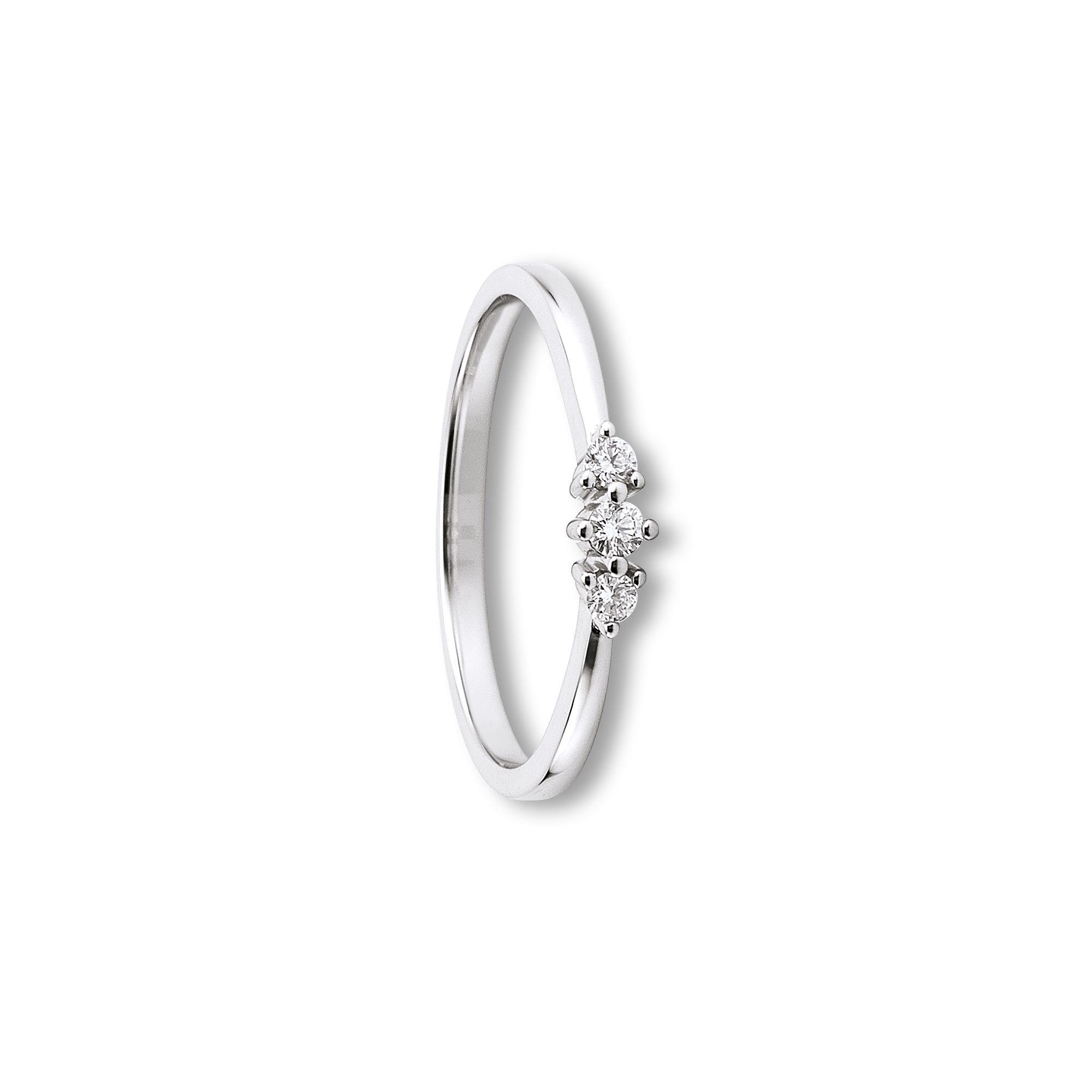 585 Gold Brillant | Ring 0,10 ct